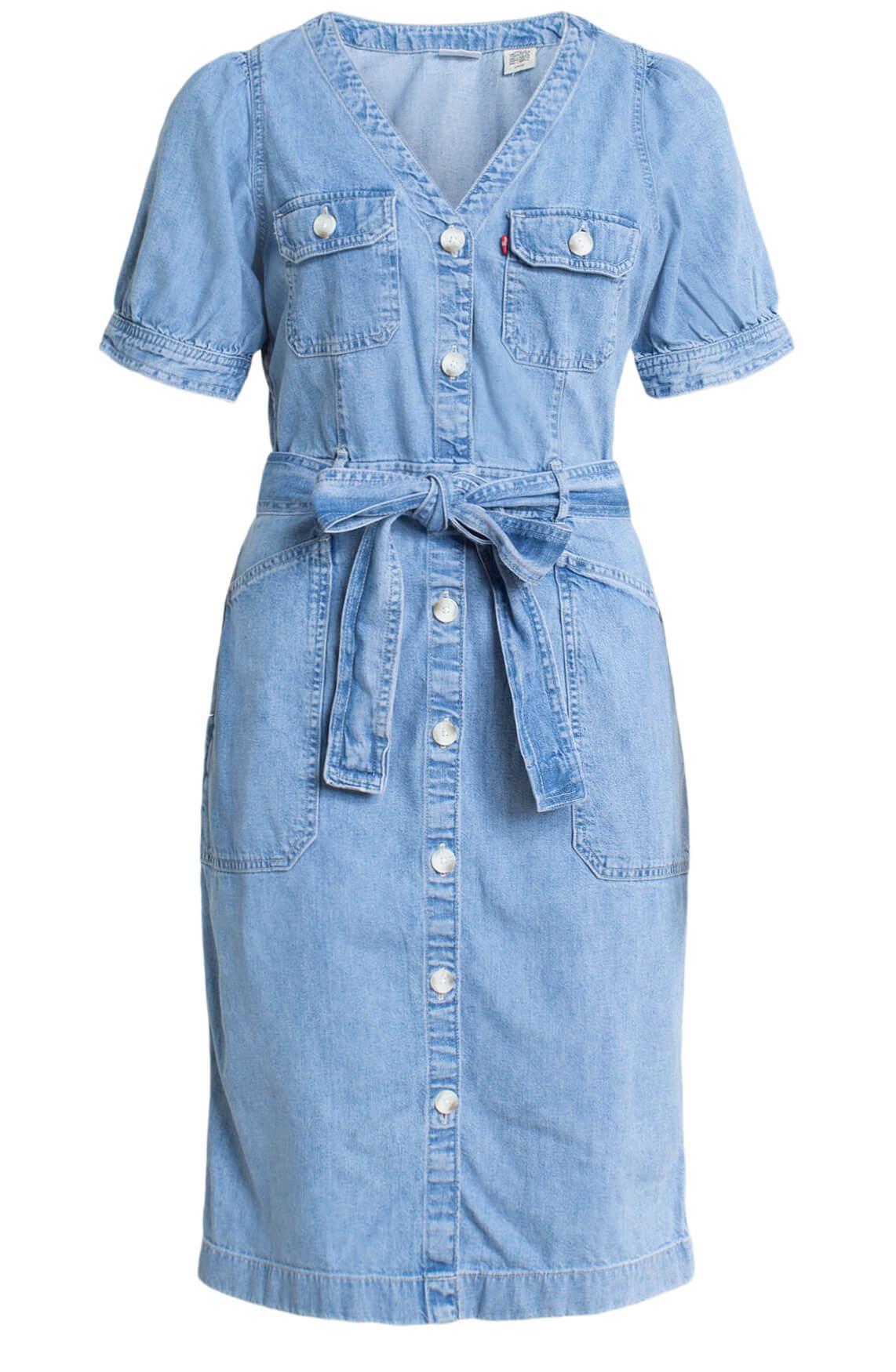Levi s Dames Denim jurk Blauw