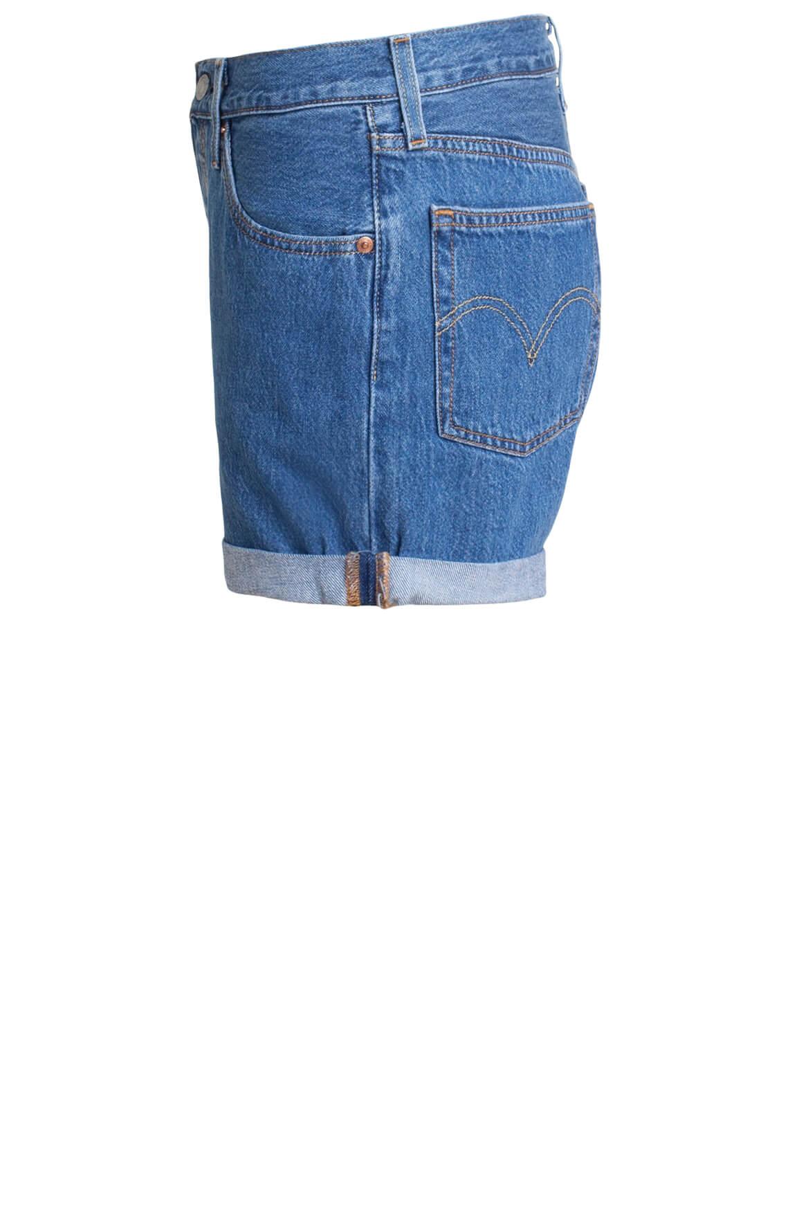 Levi s Dames 501 Shorts Blauw