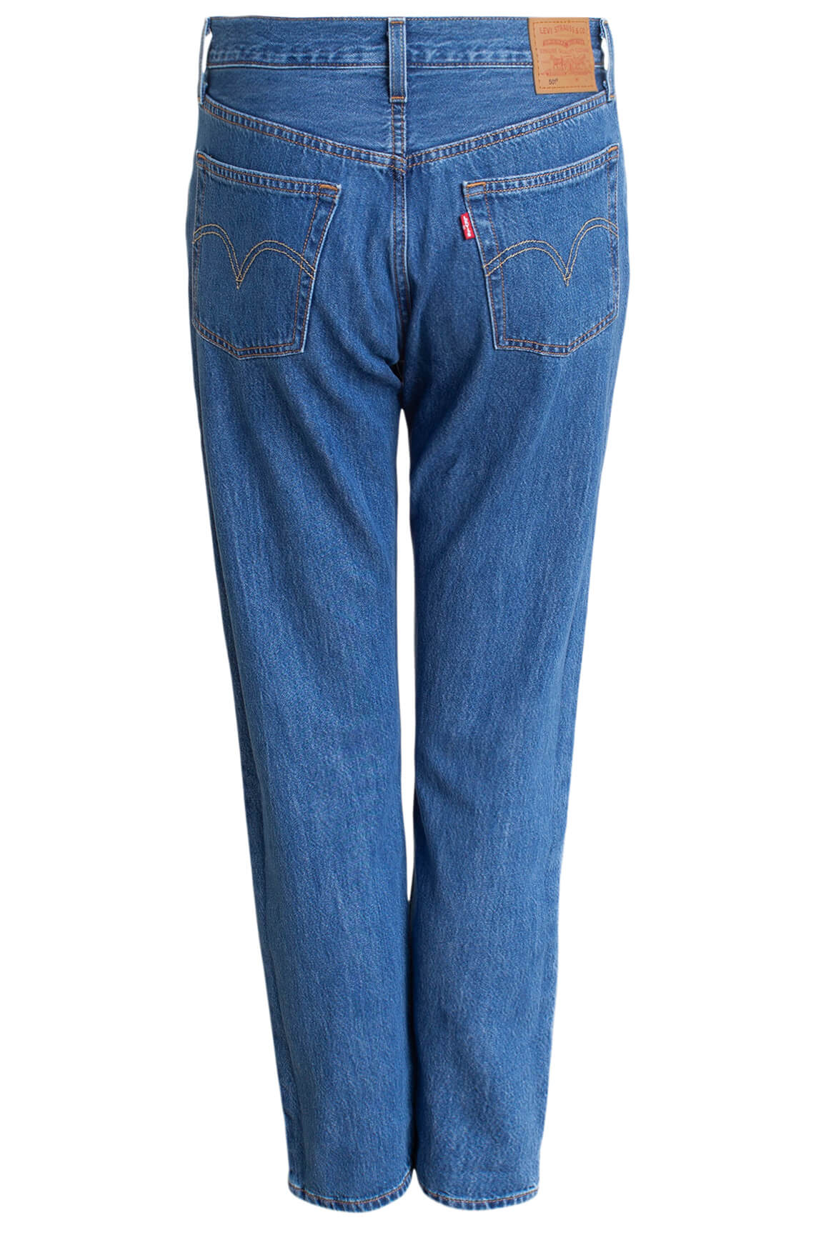 Levi s Dames 501 L28 cropped jeans Blauw