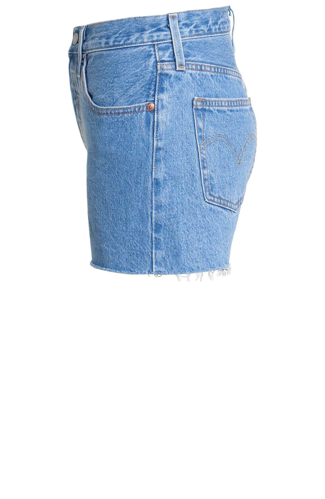 Levi s Dames 501 Short Blauw