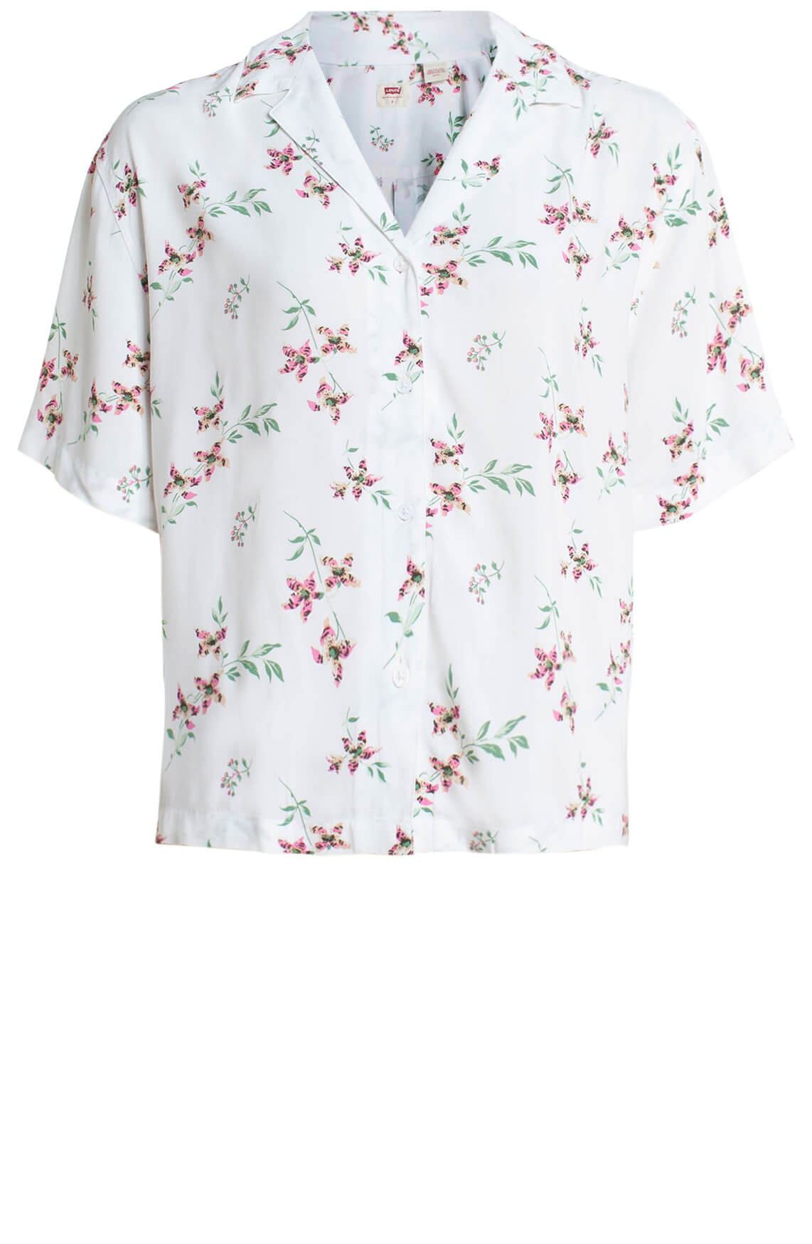 Levi s Dames Bloemen blouse wit