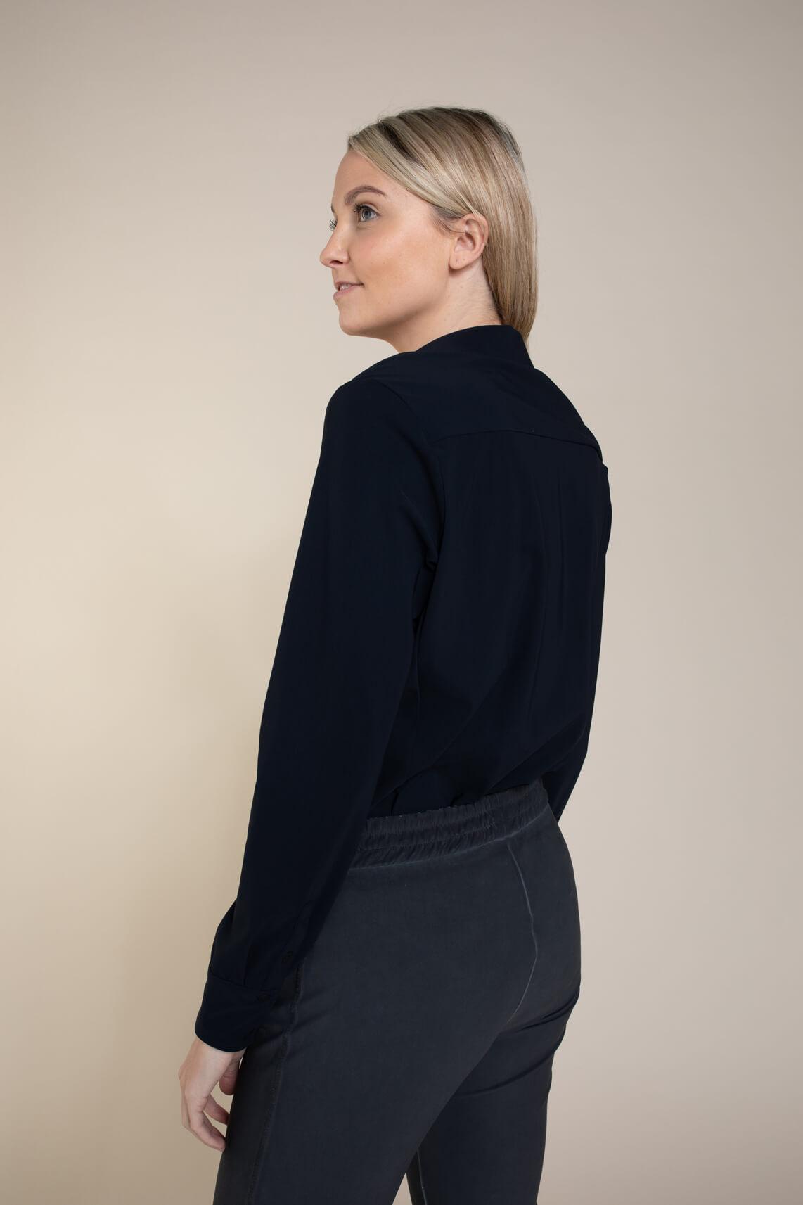 Moscow Dames Olga blouse Blauw