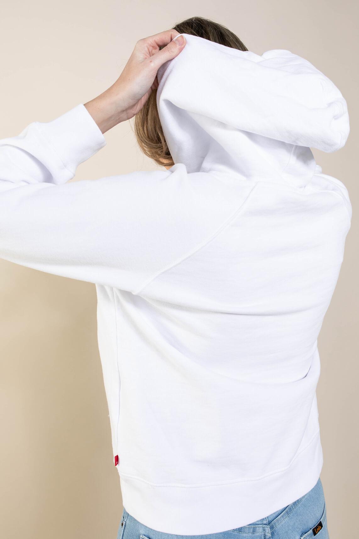 Levi s Dames Hoodie met logo Wit