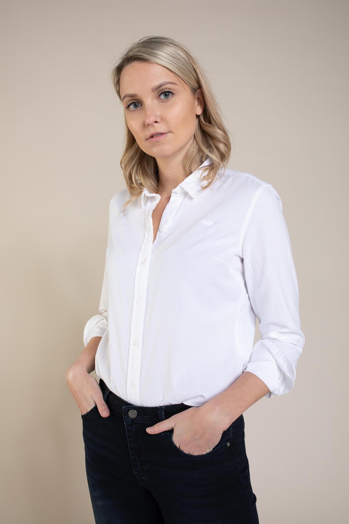 Levi s Dames Classic blouse wit