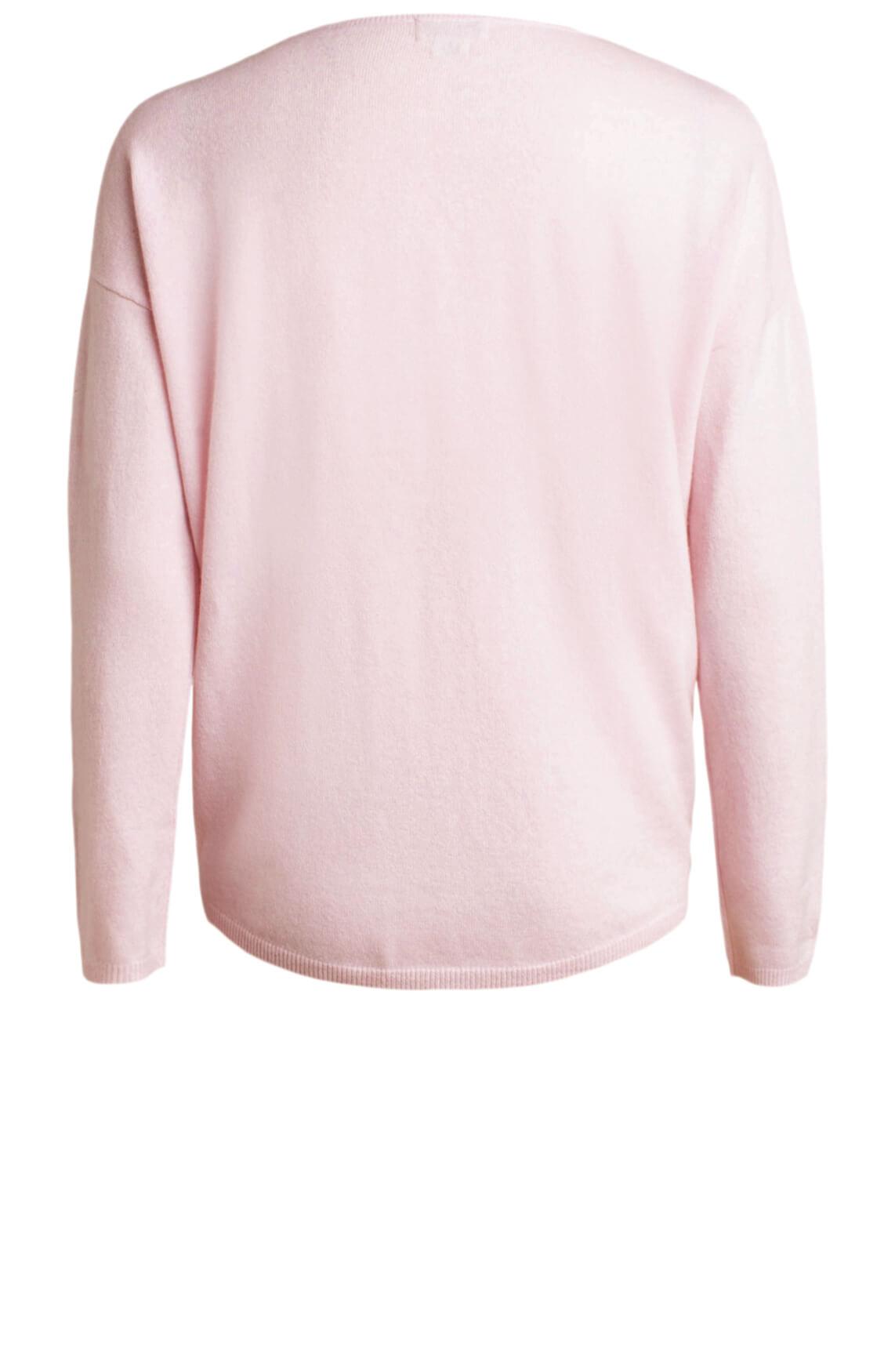 Anna Dames Wollen pullover roze
