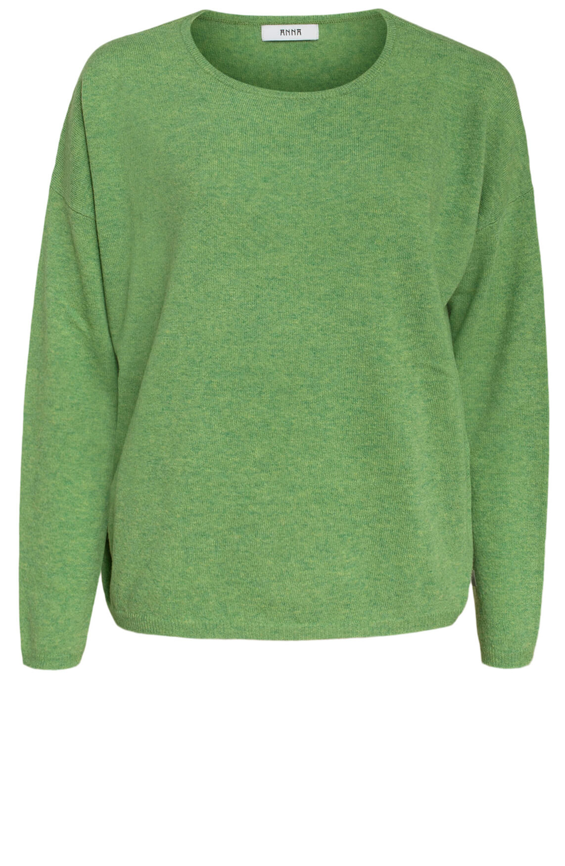 Anna Dames Wollen pullover groen