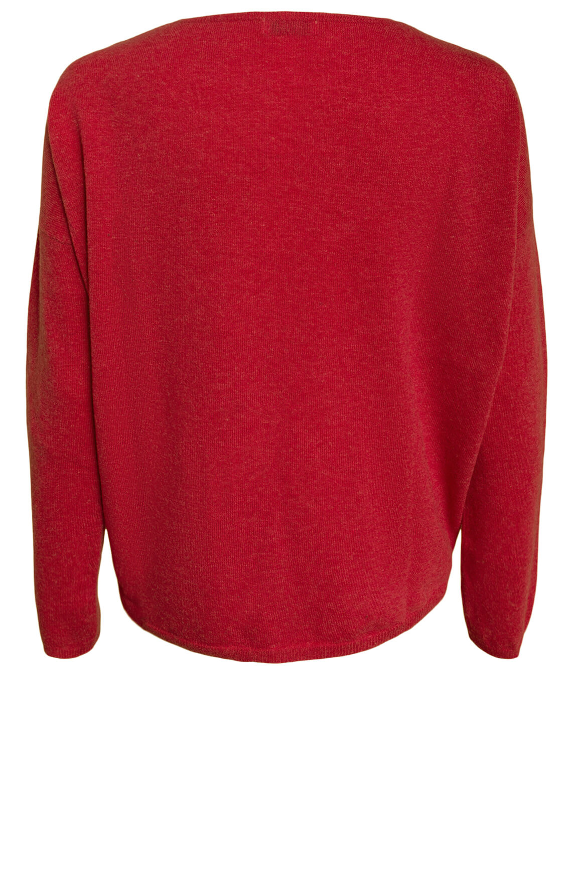 Anna Dames Wollen pullover Rood