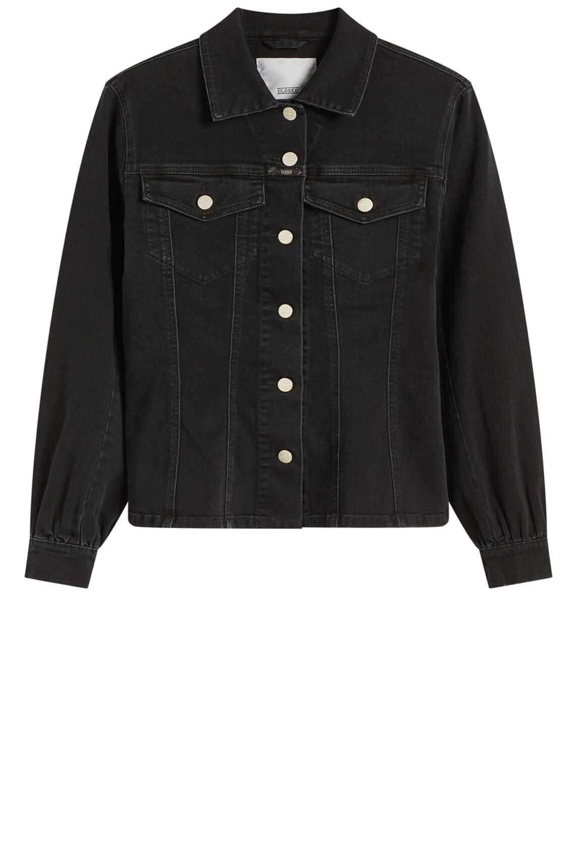 Closed Dames Denim blouse zwart
