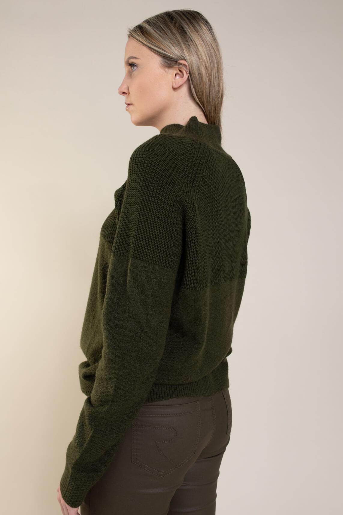 Emotions Dames Gebreide pullover Groen