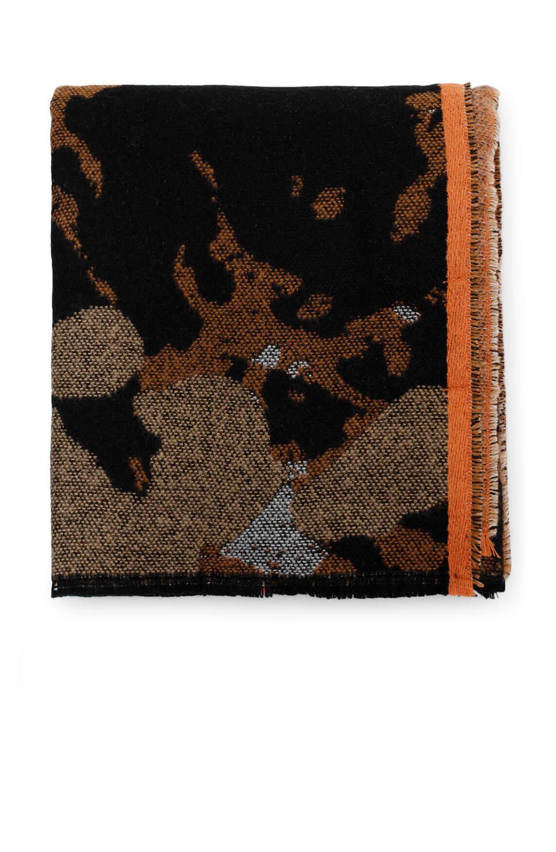 Codello Dames Camouflage shawl zwart