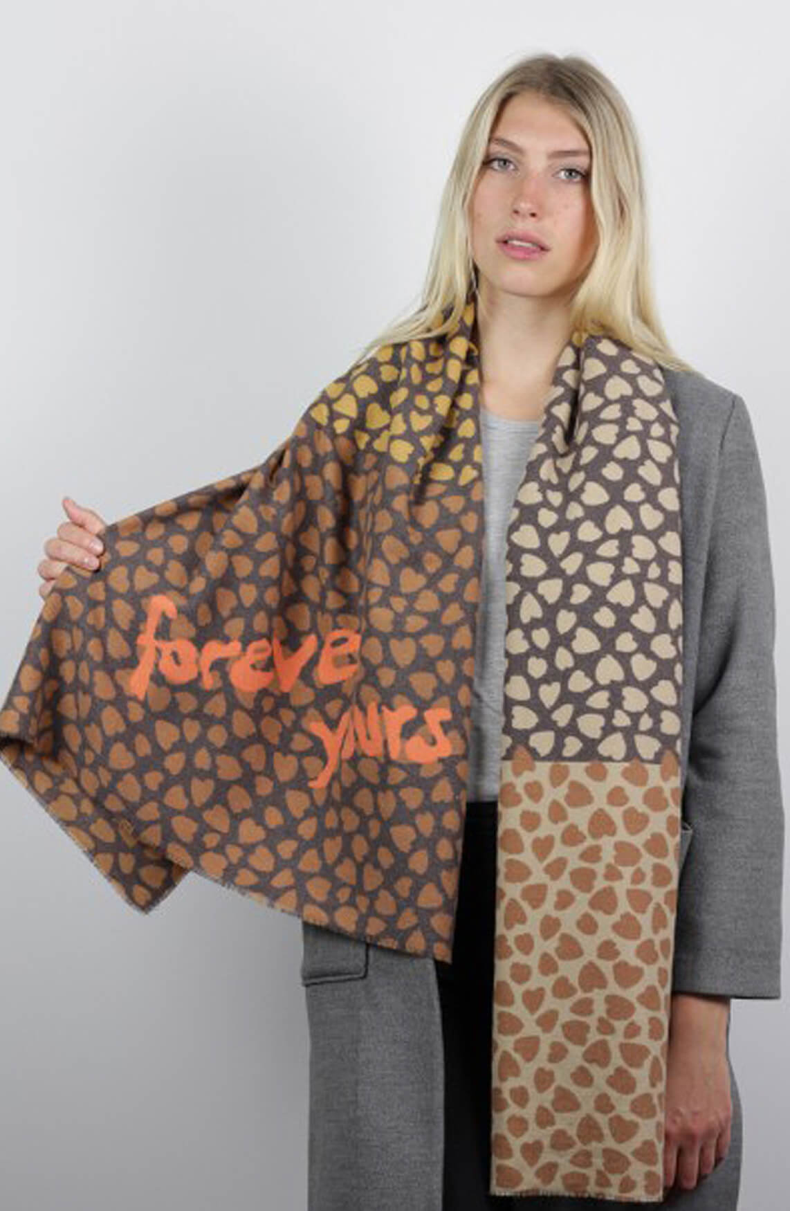 Codello Dames Forever Yours shawl Bruin