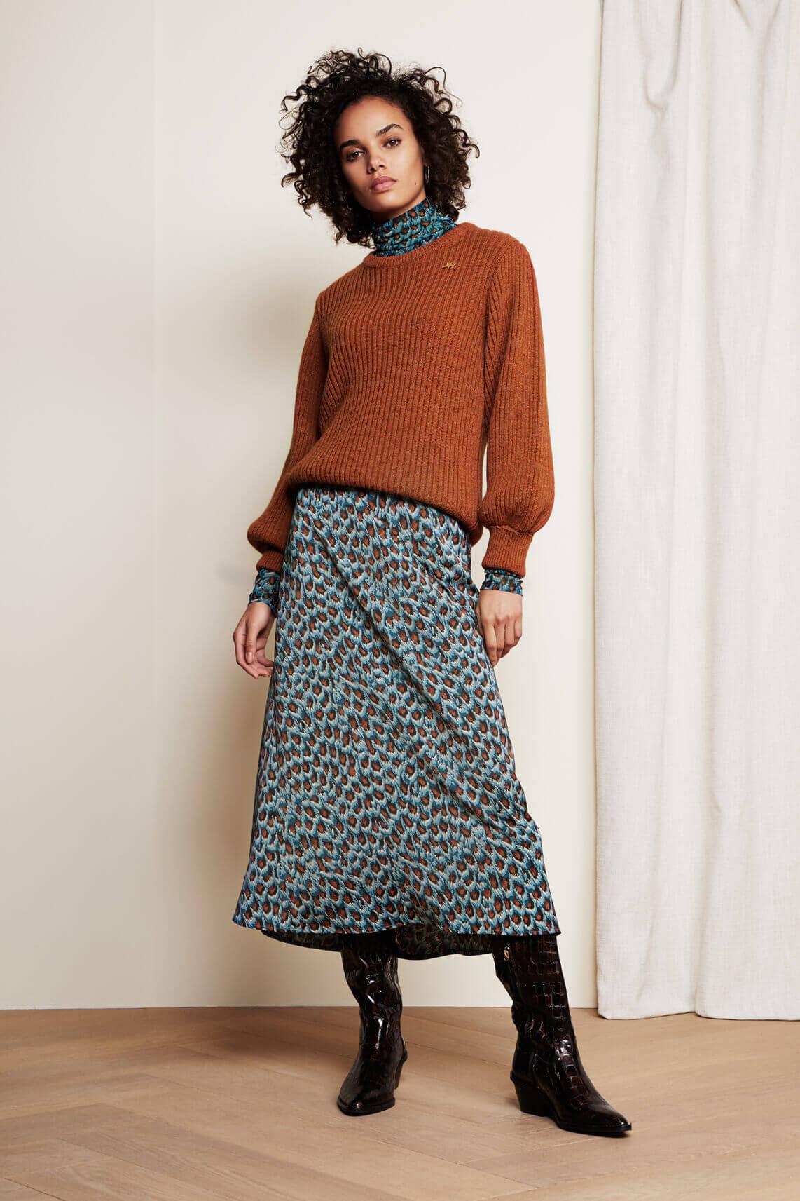 Fabienne Chapot Dames Marianne pullover Bruin