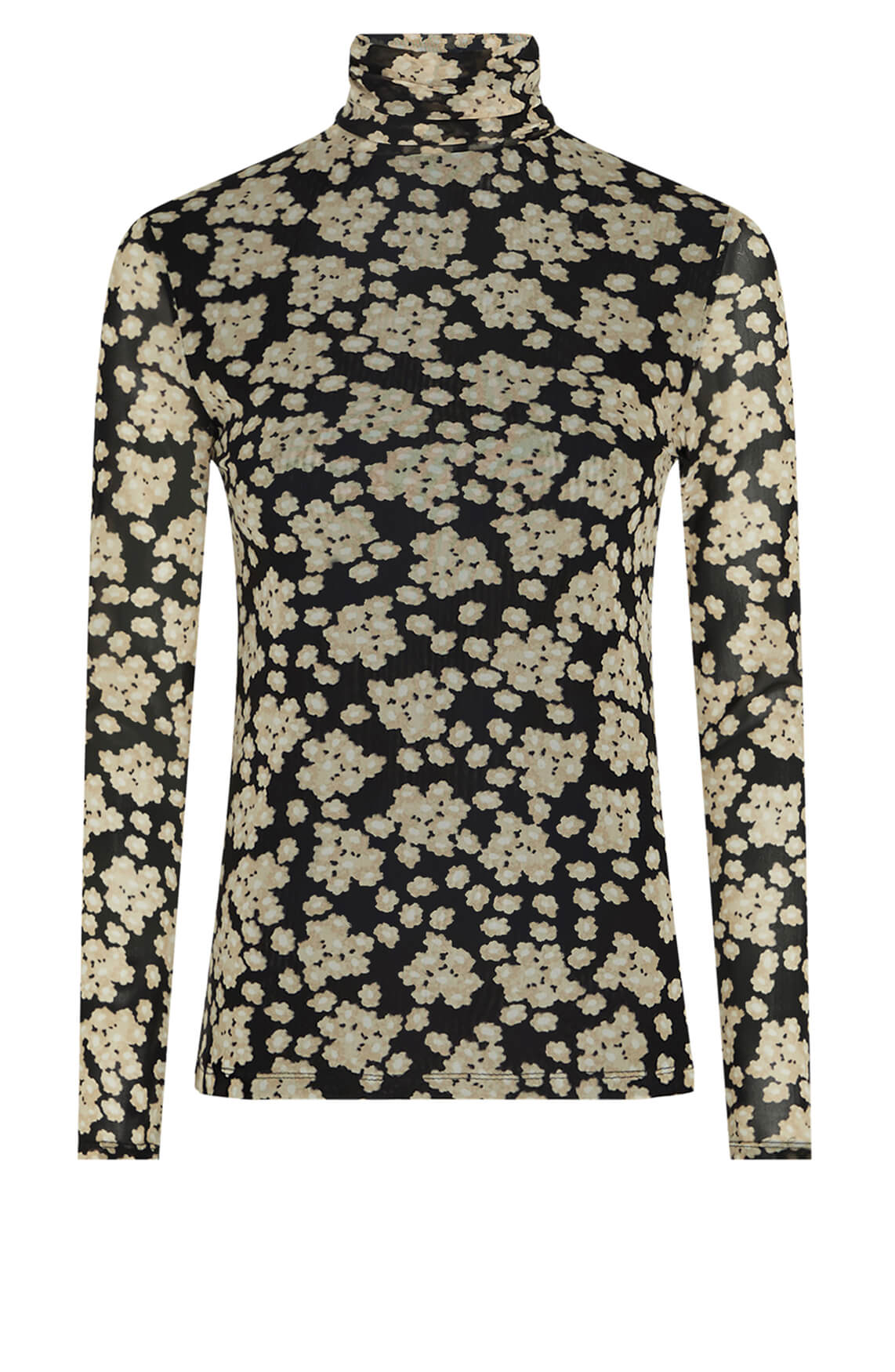 Fabienne Chapot Dames Jane mesh shirt zwart