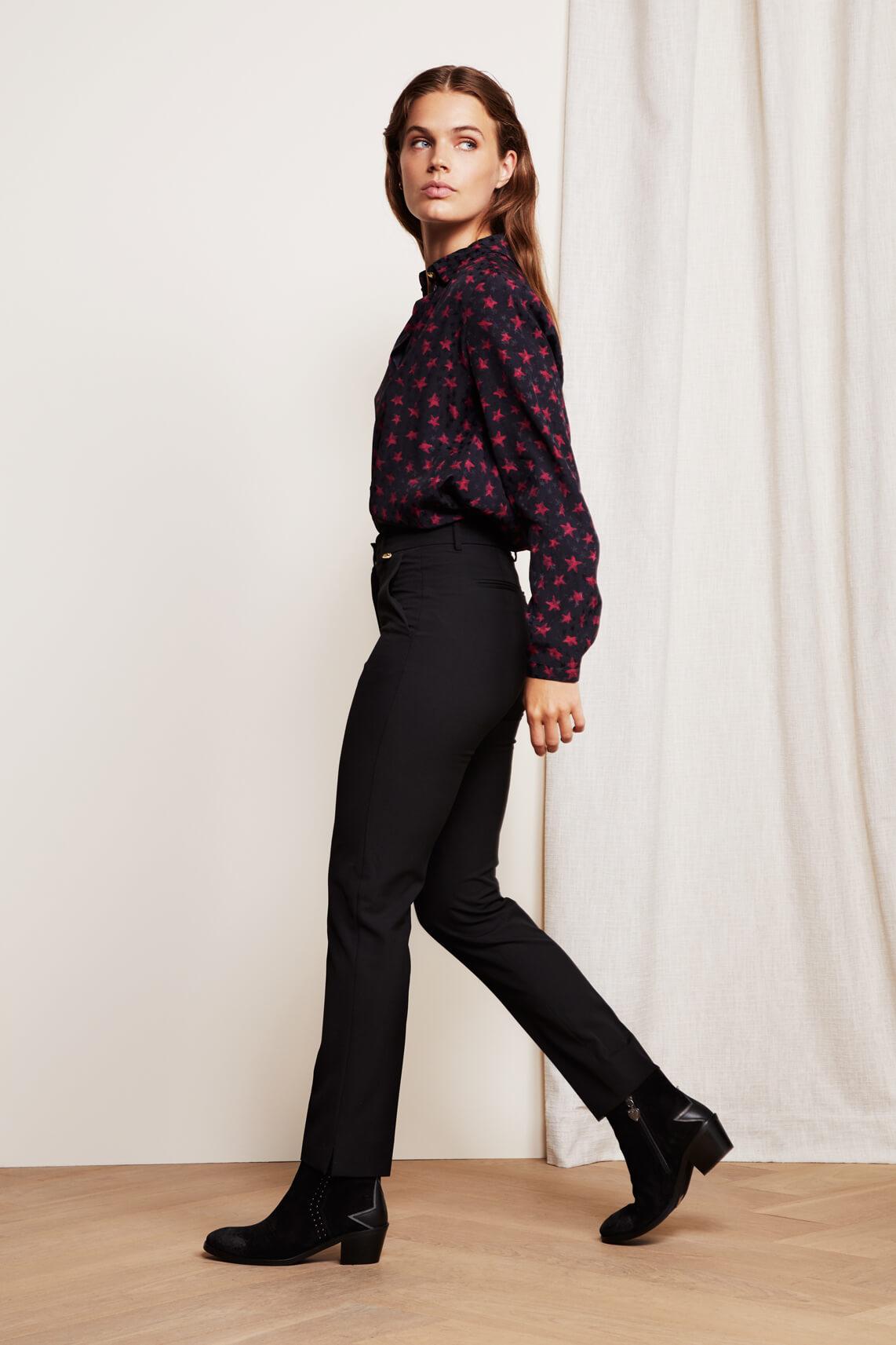 Fabienne Chapot Dames Hugo pantalon zwart