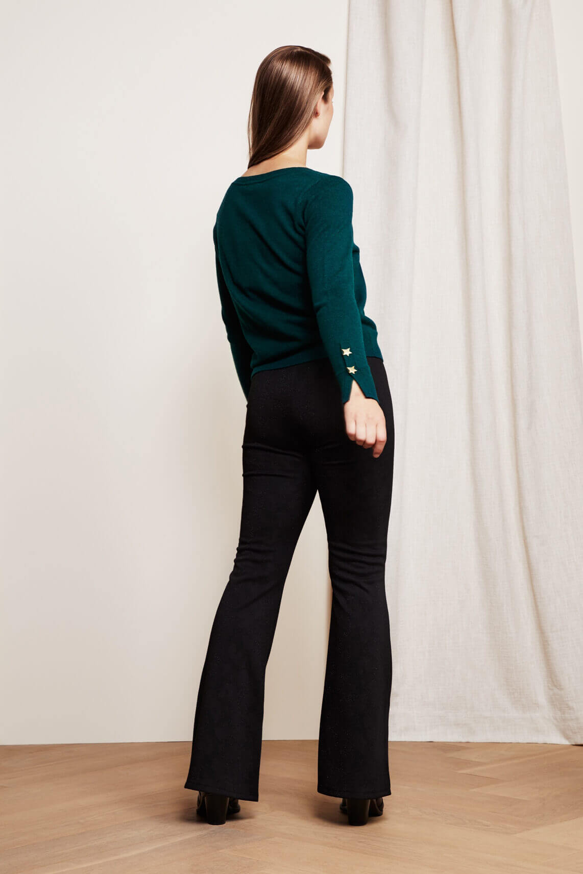 Fabienne Chapot Dames Phene broek zwart