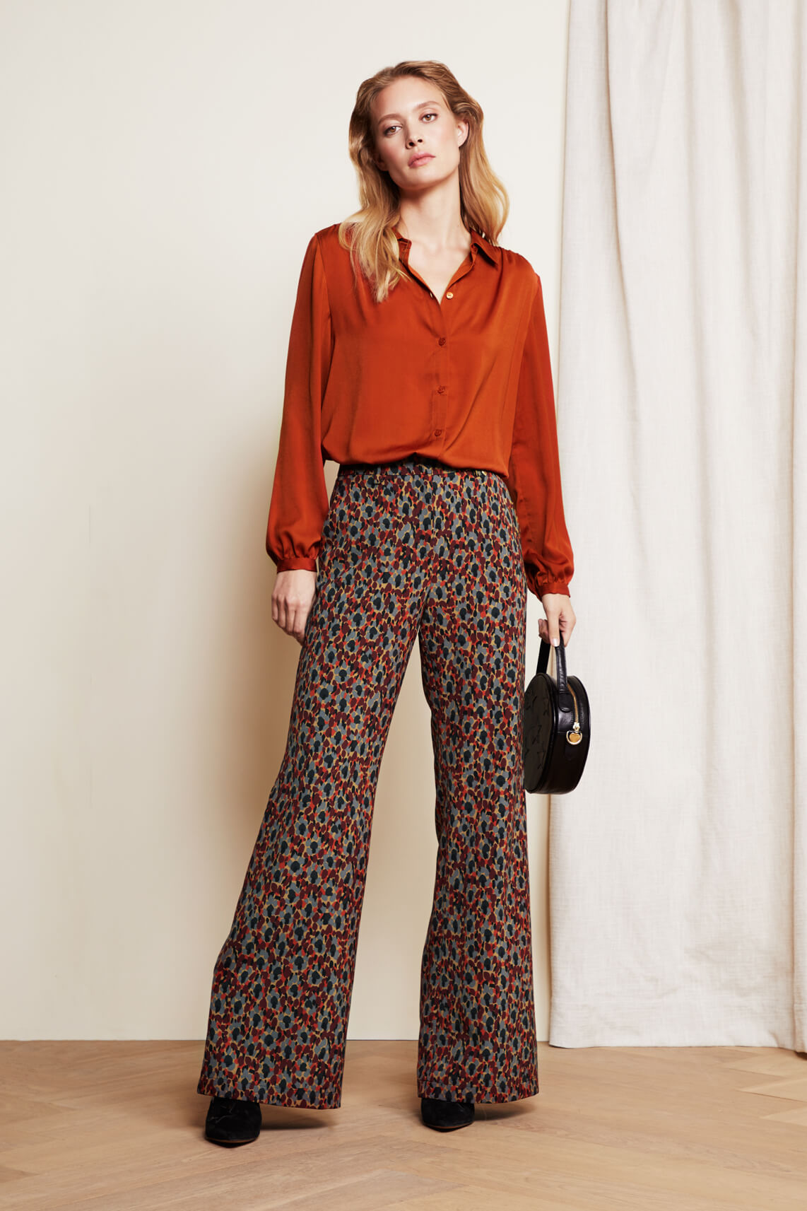 Fabienne Chapot Dames Puck pantalon Bruin