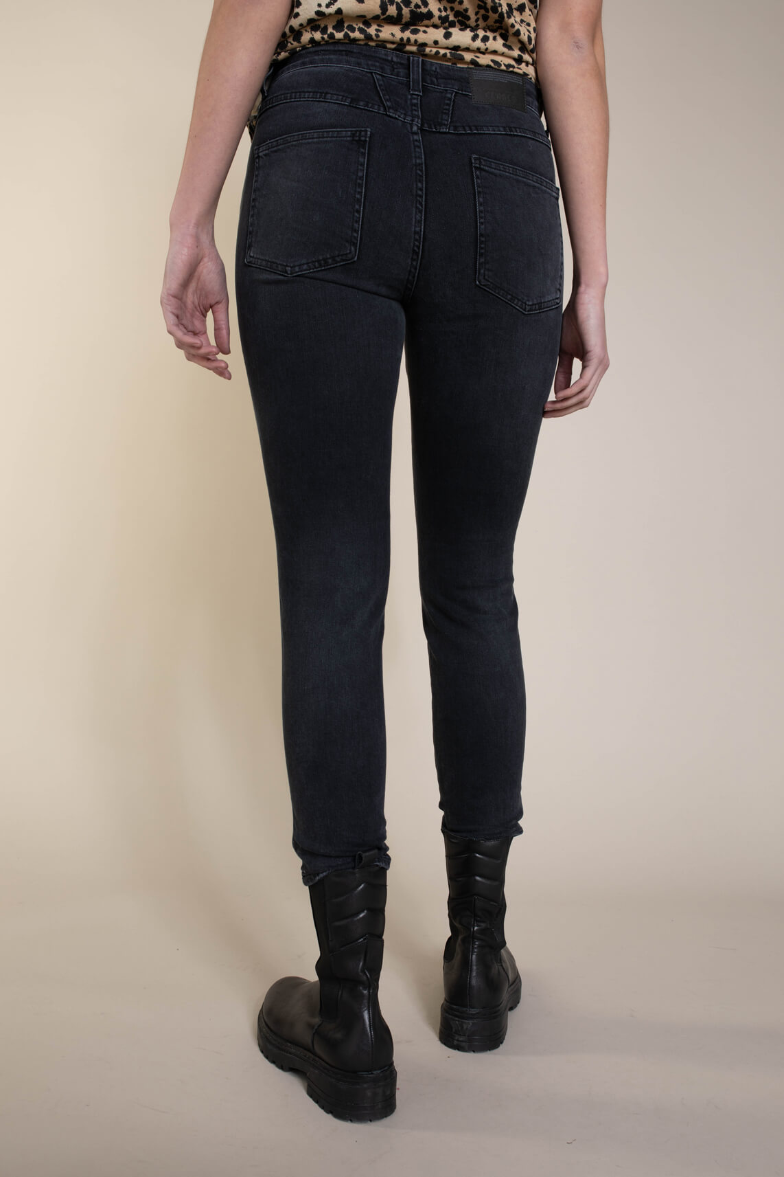 Closed Dames Jeans skinny Grijs