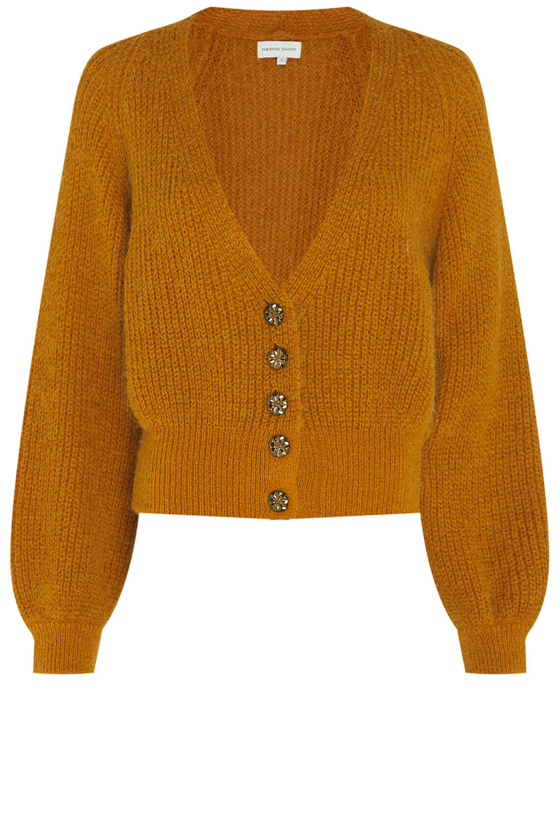 Fabienne Chapot Dames Starry cardigan geel