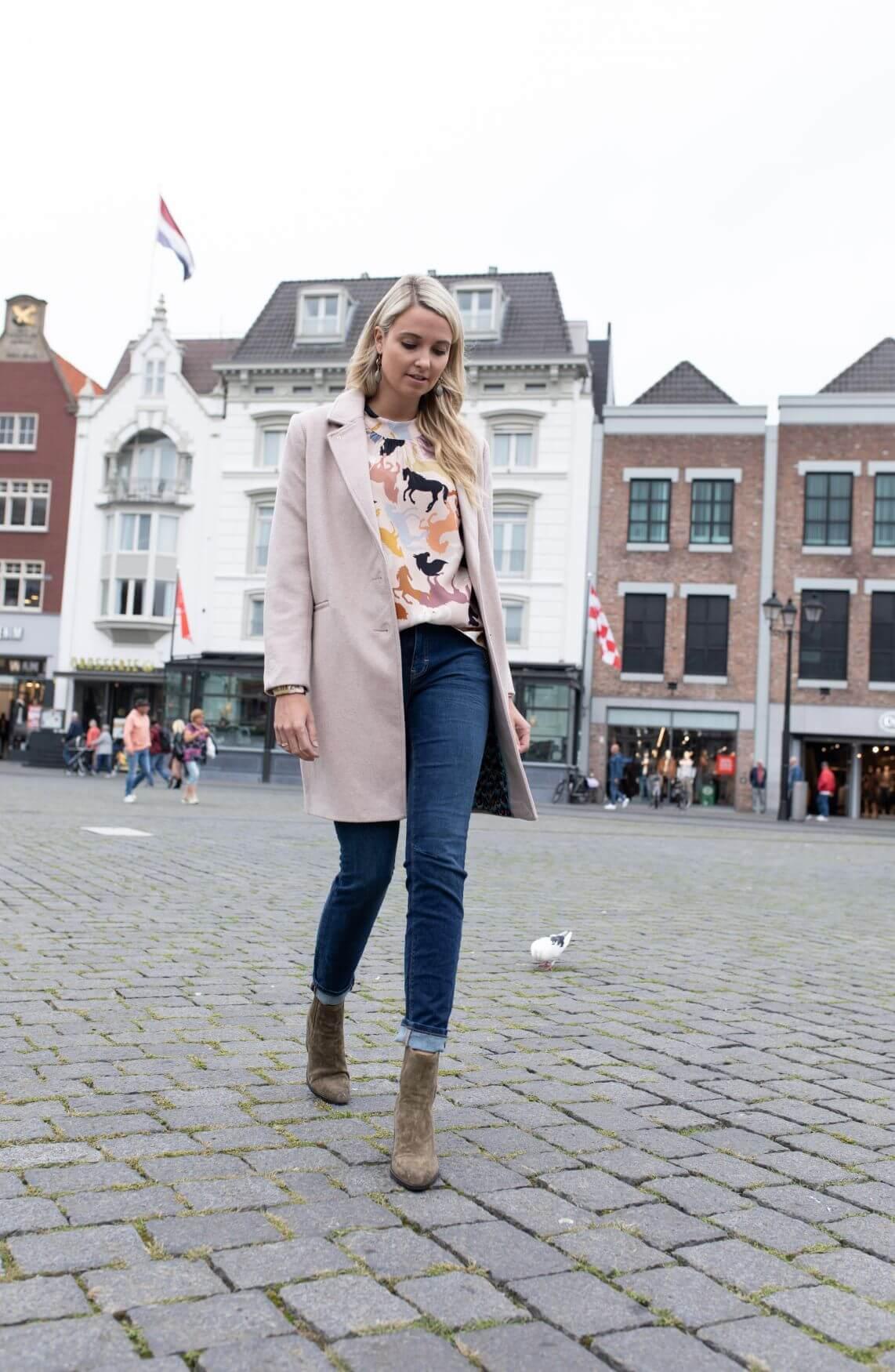 Fabienne Chapot Dames Flori mantel wit