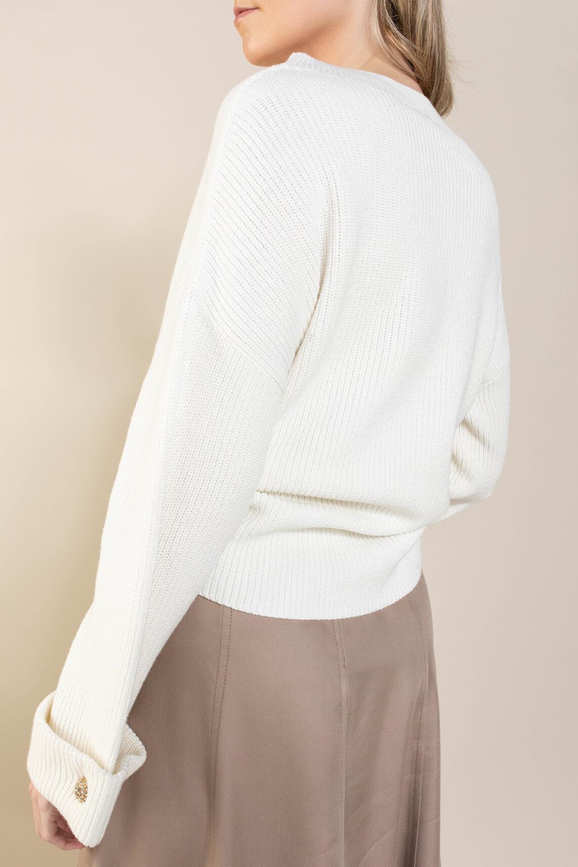 Riani Dames Pullover lange mouw Ecru