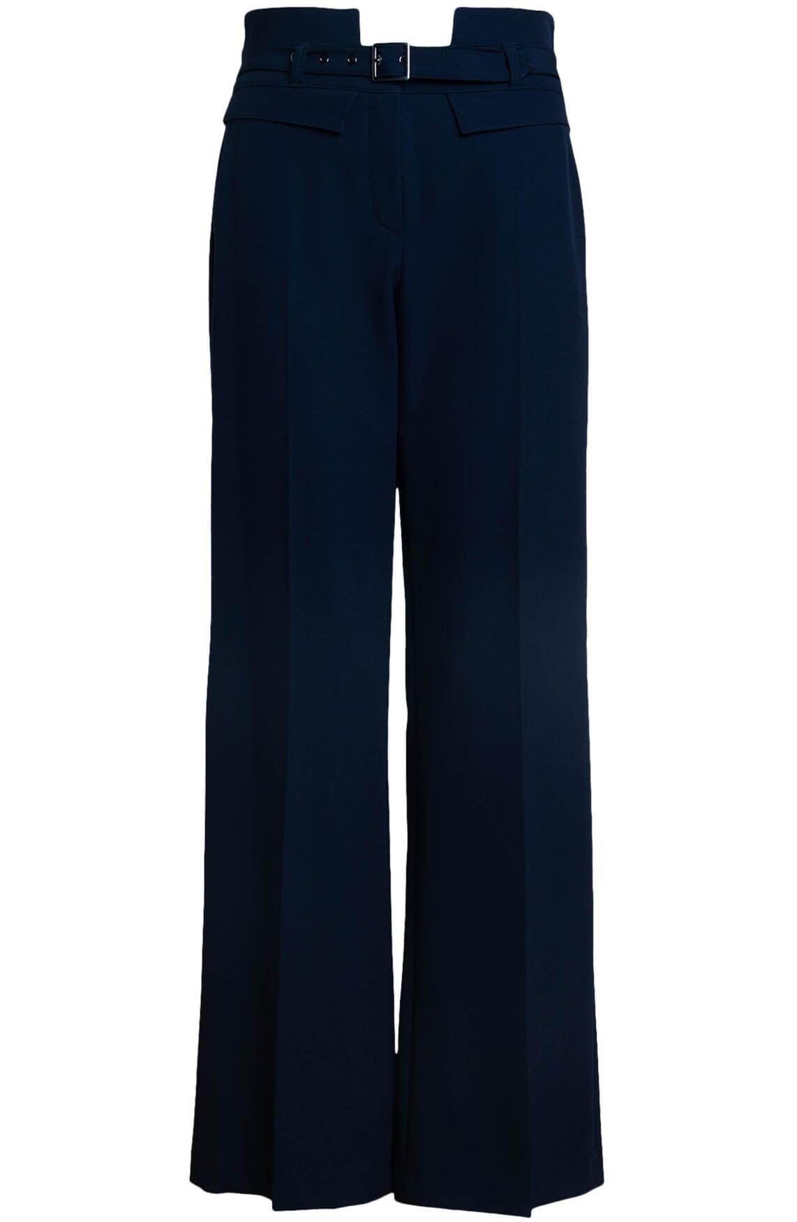 Rosner Dames L32 Mara broek met ceintuur Blauw