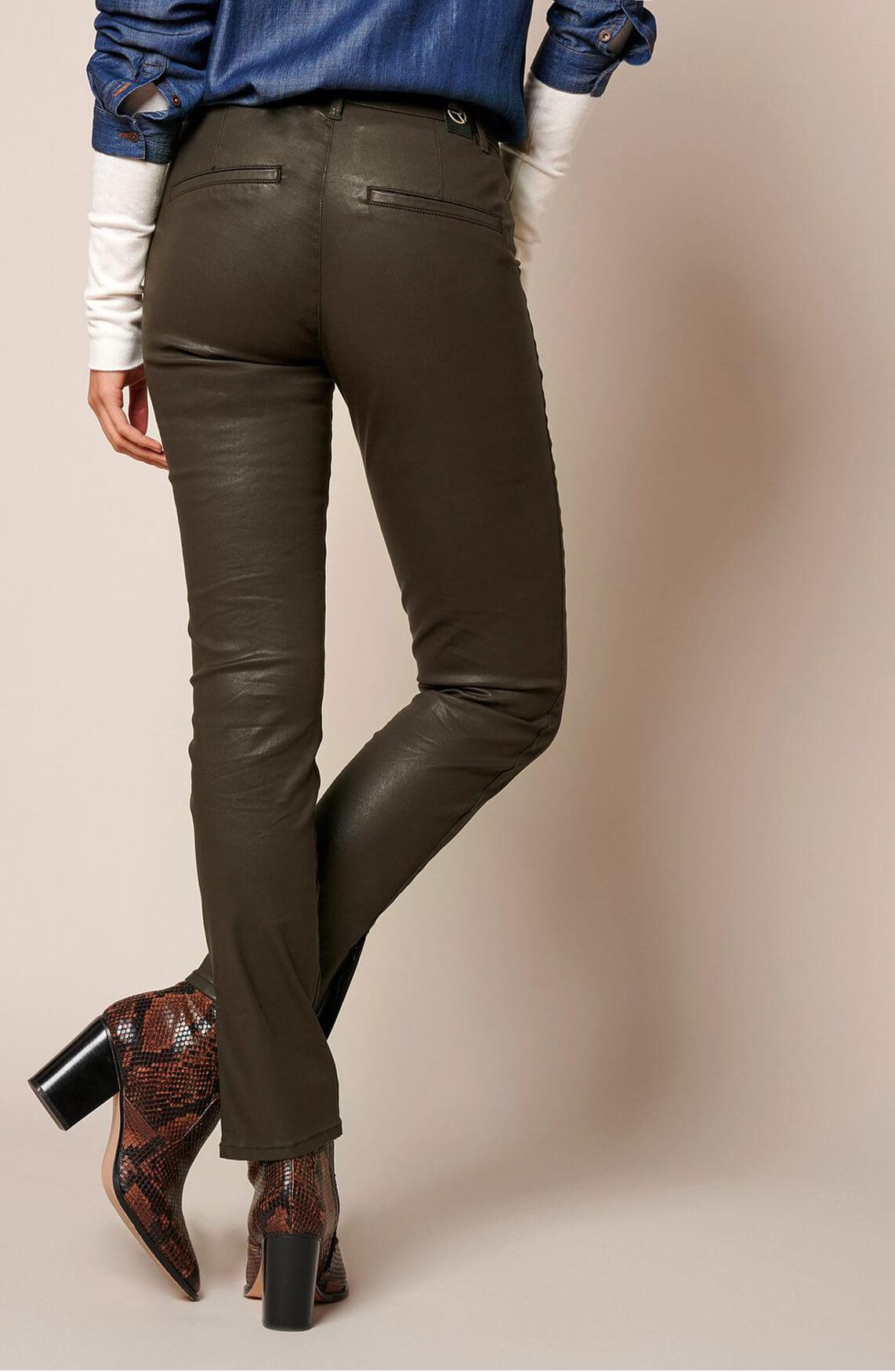 Rosner Dames L30 Antonia gecoate broek groen