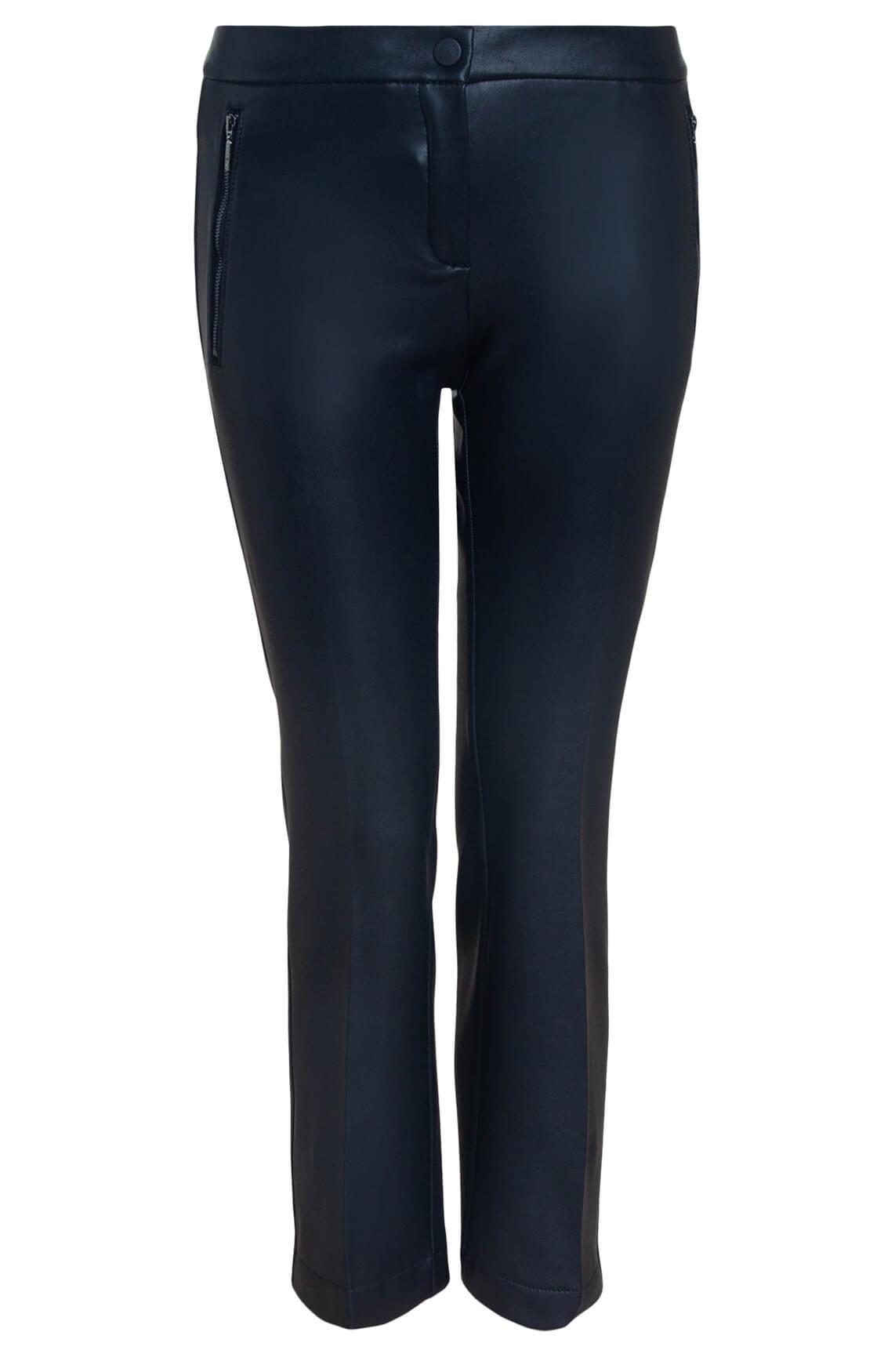 Rosner Dames L28 Antonia vegan leather broek zwart