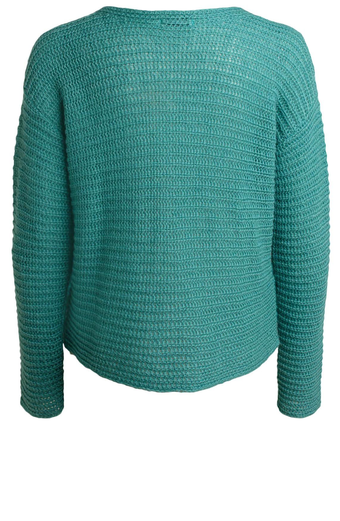 Anna Dames Losgebreide pullover Blauw