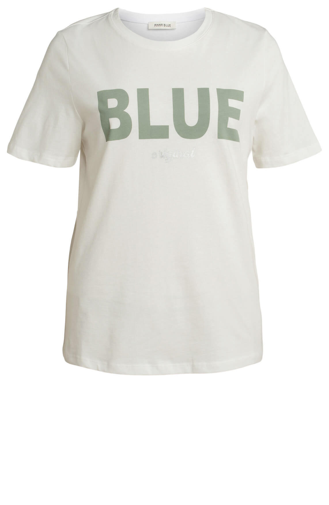 Anna Blue Dames Shirt