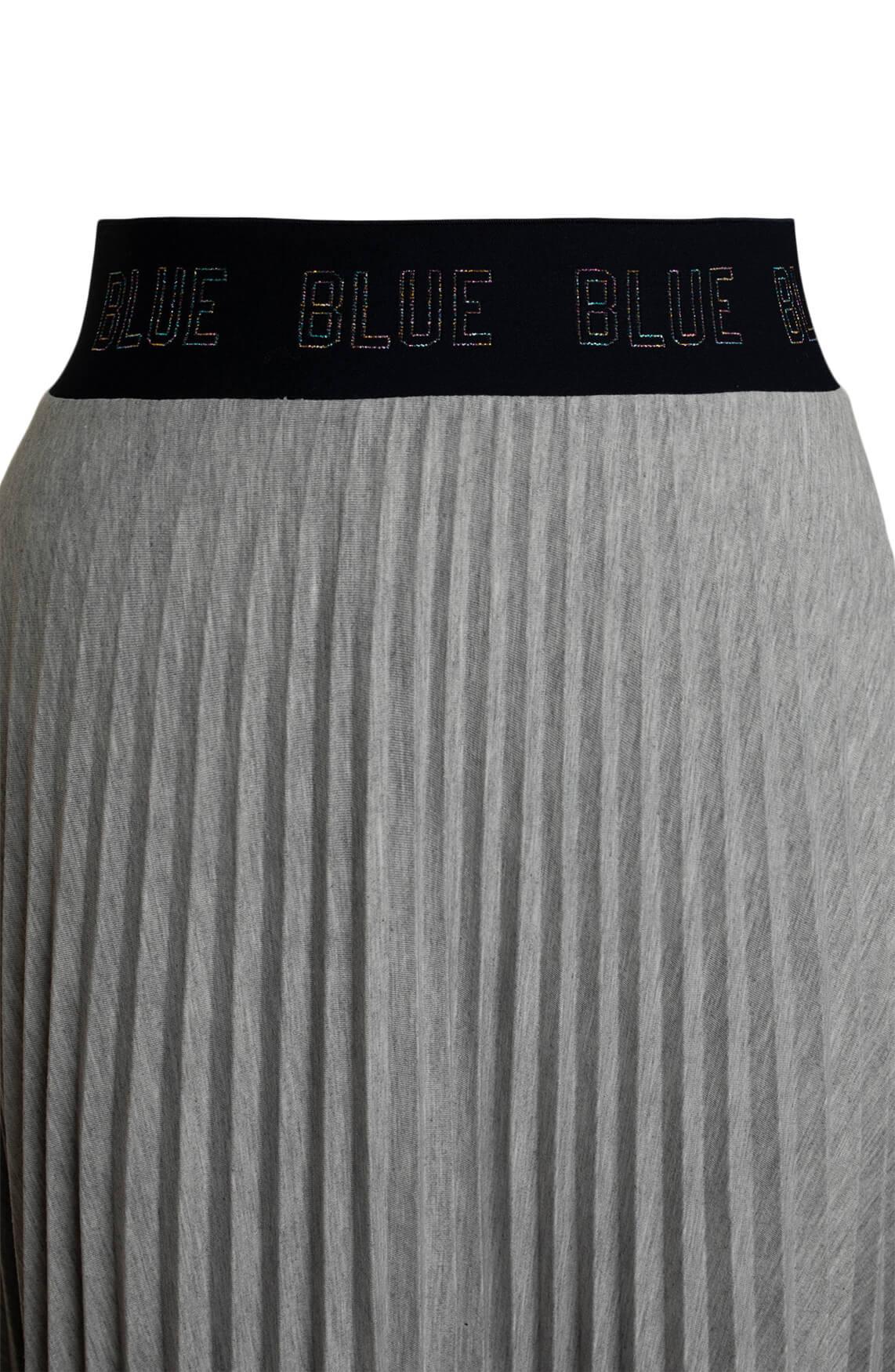 Anna Blue Dames Plissé rok Grijs