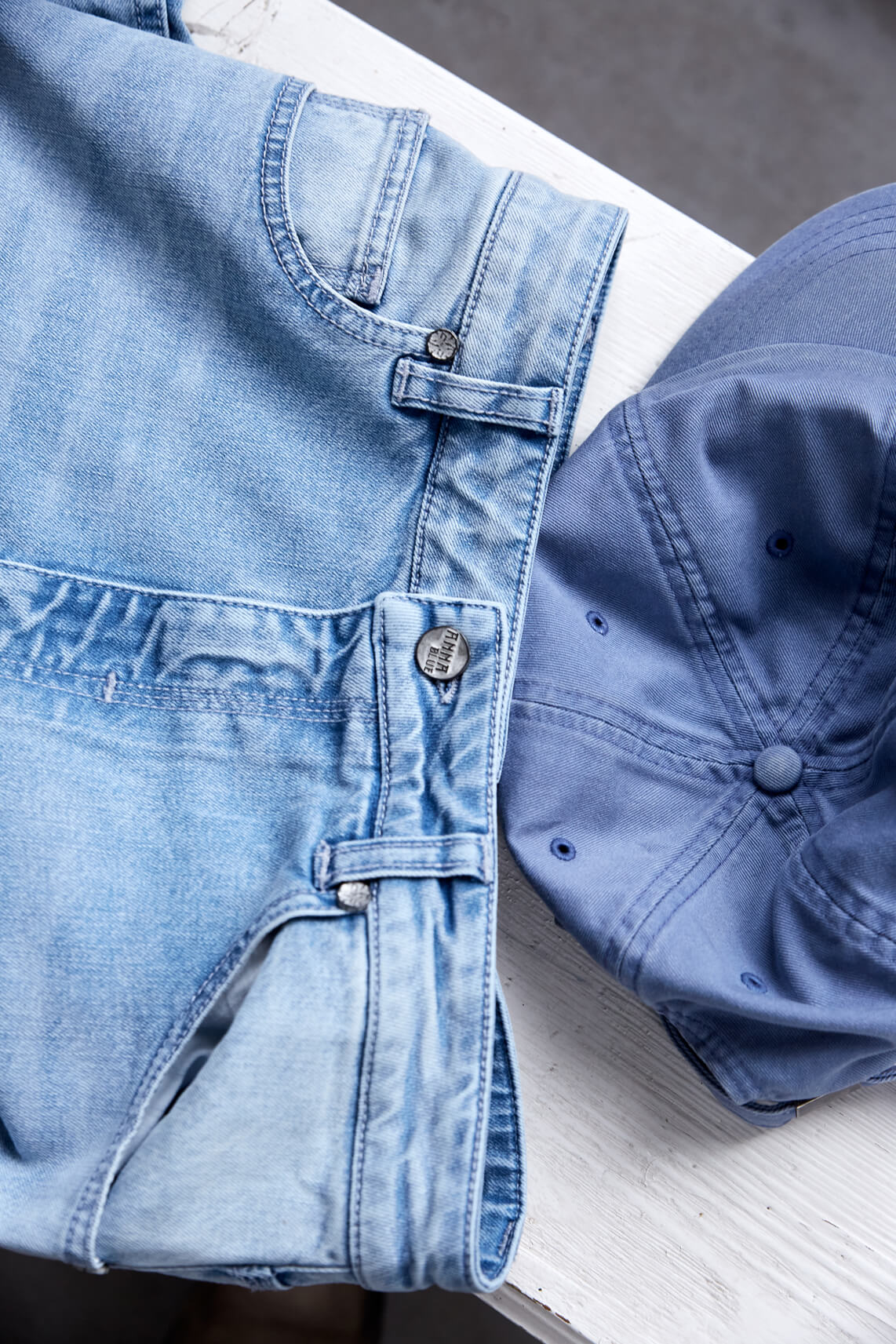 Anna Blue Dames Jeans Blauw