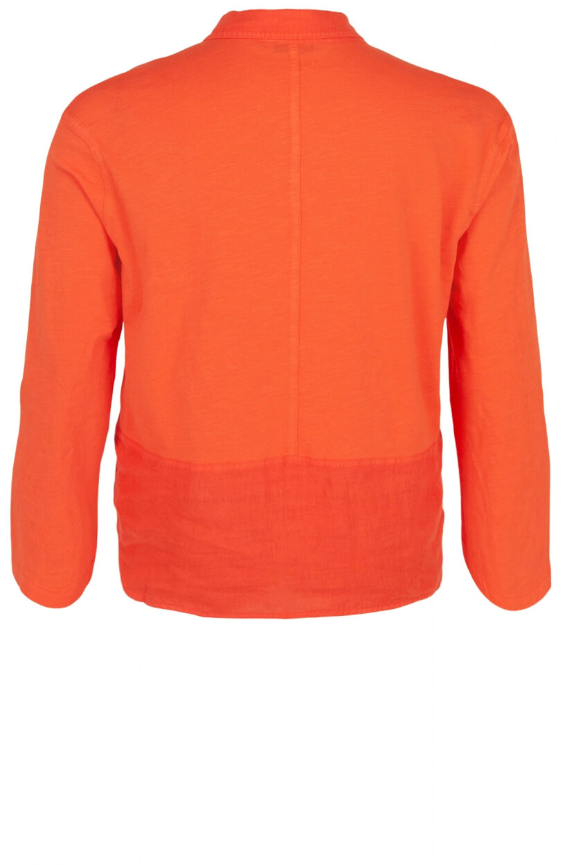 Anna Blue Dames Shirt Oranje