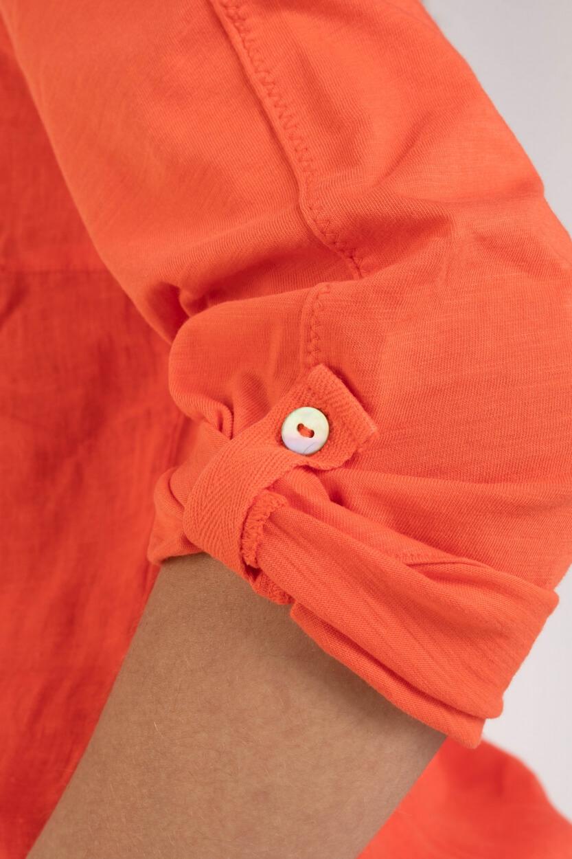 Anna Blue Dames Shirt Roze