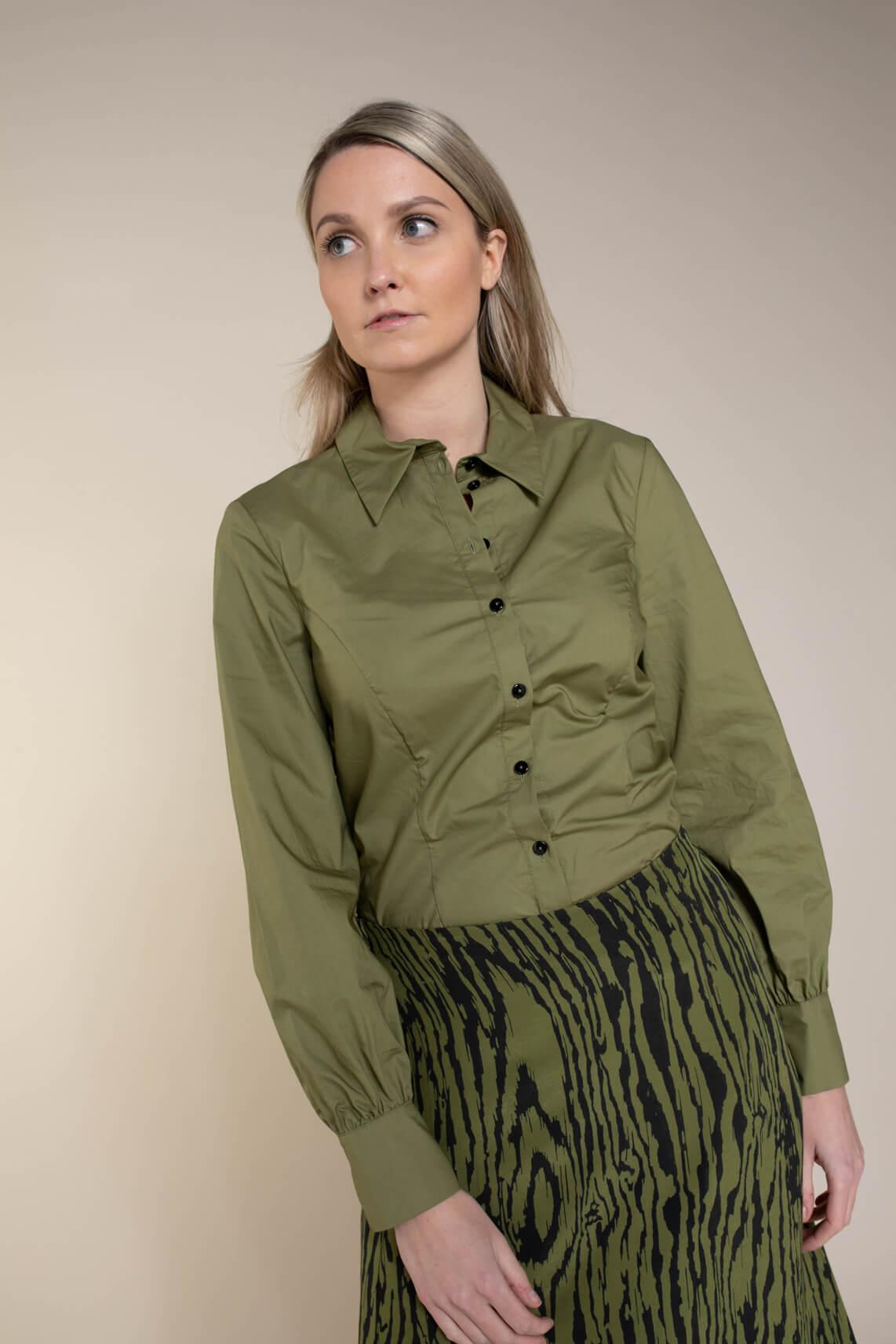 Baum und Pferdgarten Dames Mira blouse groen