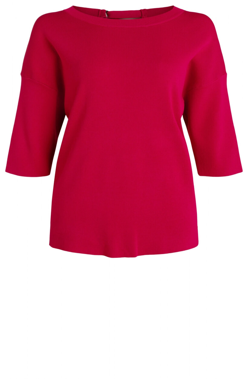 Anna Dames Pull met cut-out detail Roze
