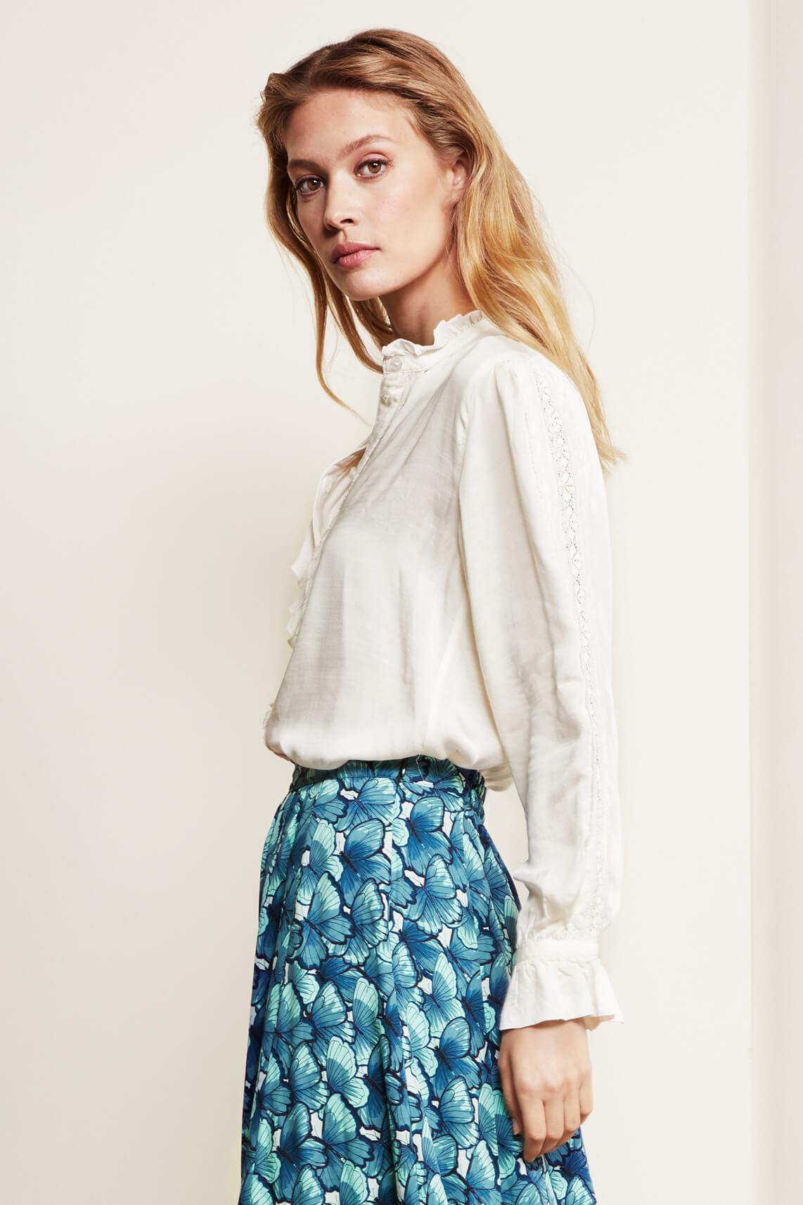 Fabienne Chapot Dames Mimi blouse wit