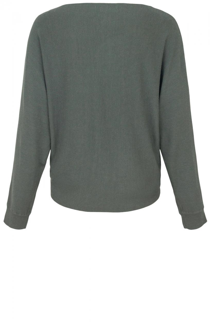 Anna Dames Oversized pullover Grijs