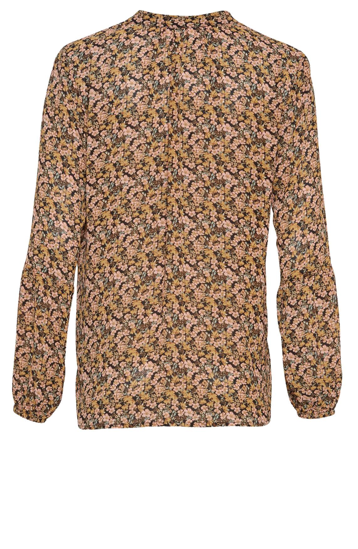Moss Copenhagen Dames Martha bloemenblouse roze