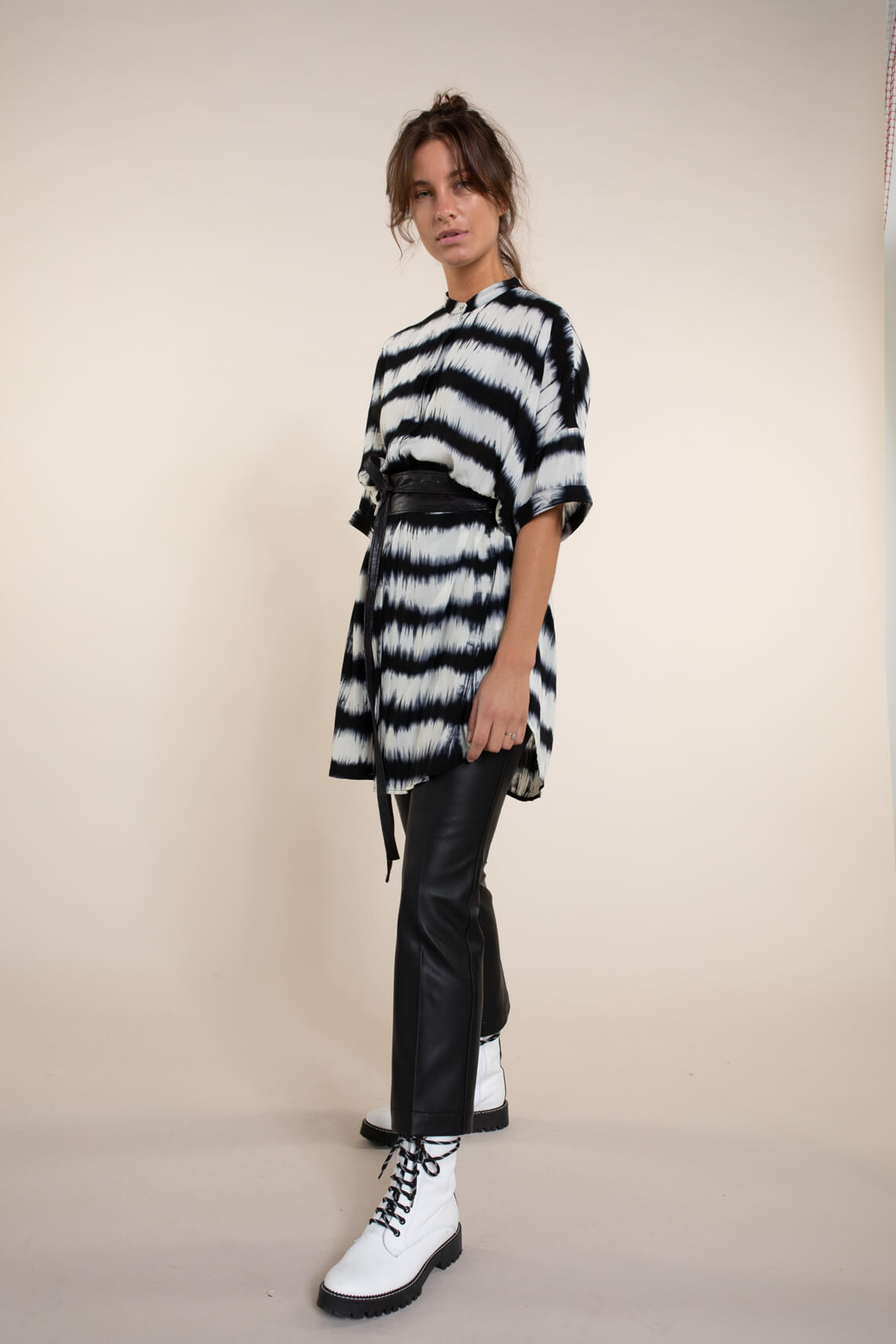 Co Couture Dames Fenton tuniek zwart
