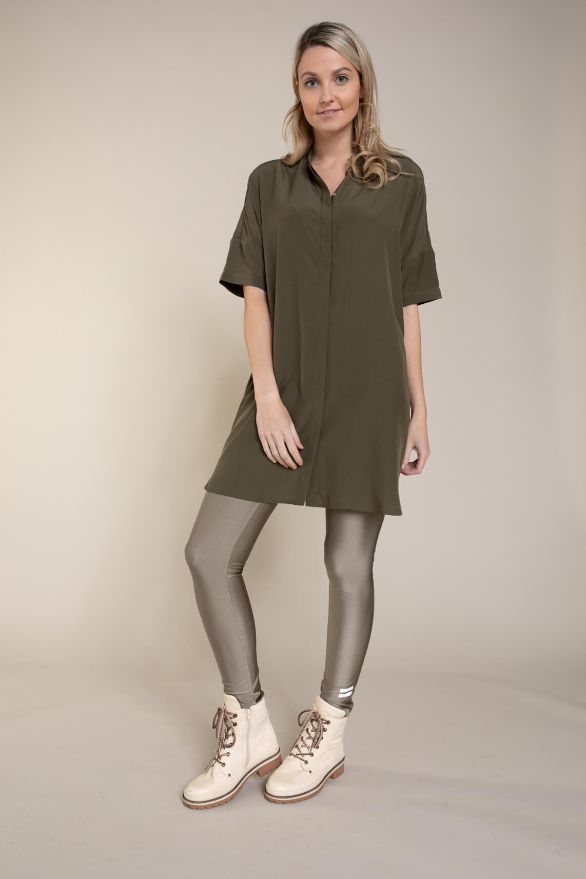 Co Couture Dames Sunrise tuniek shirt groen
