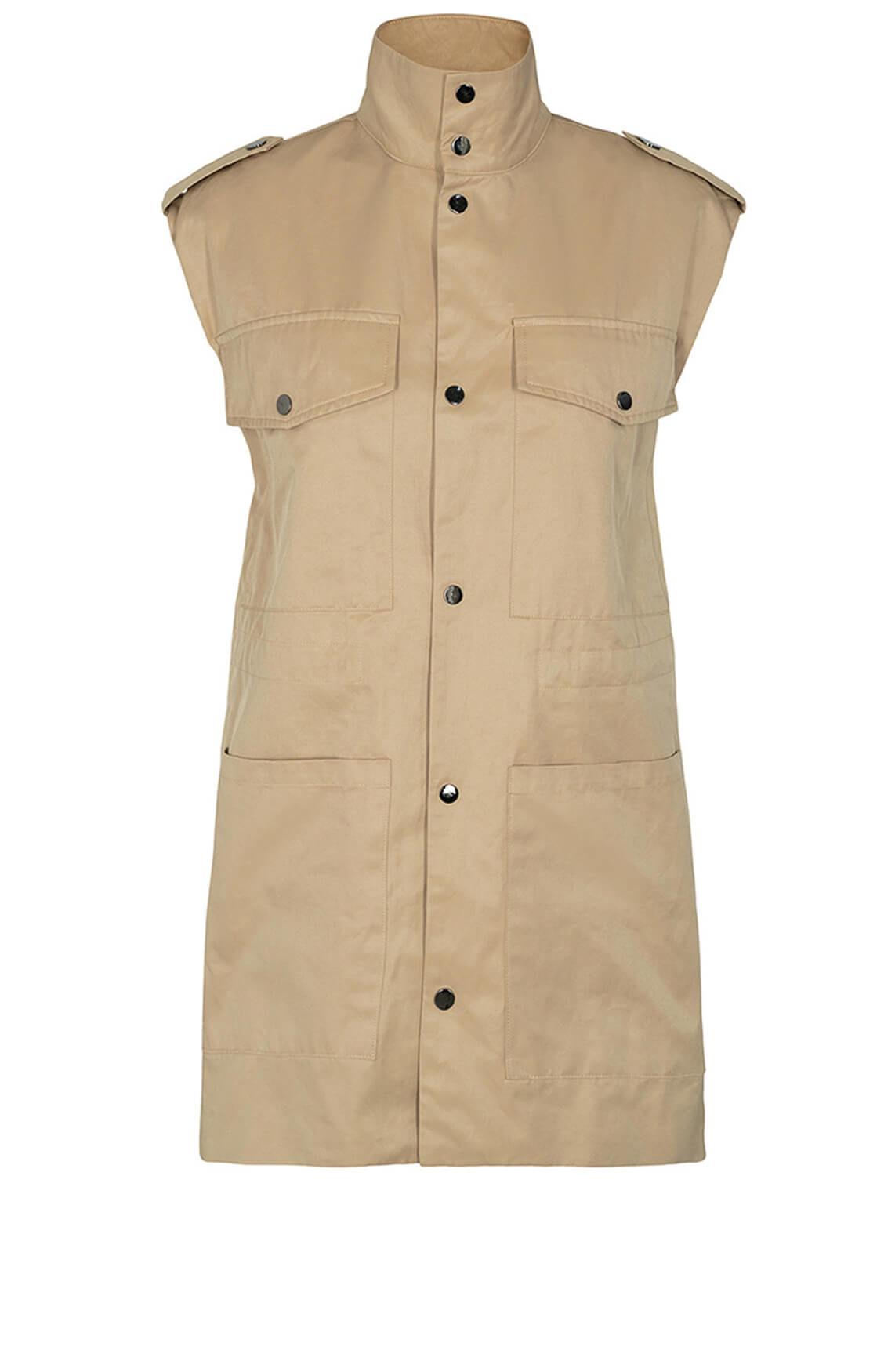 Co Couture Dames Felicia vest Bruin