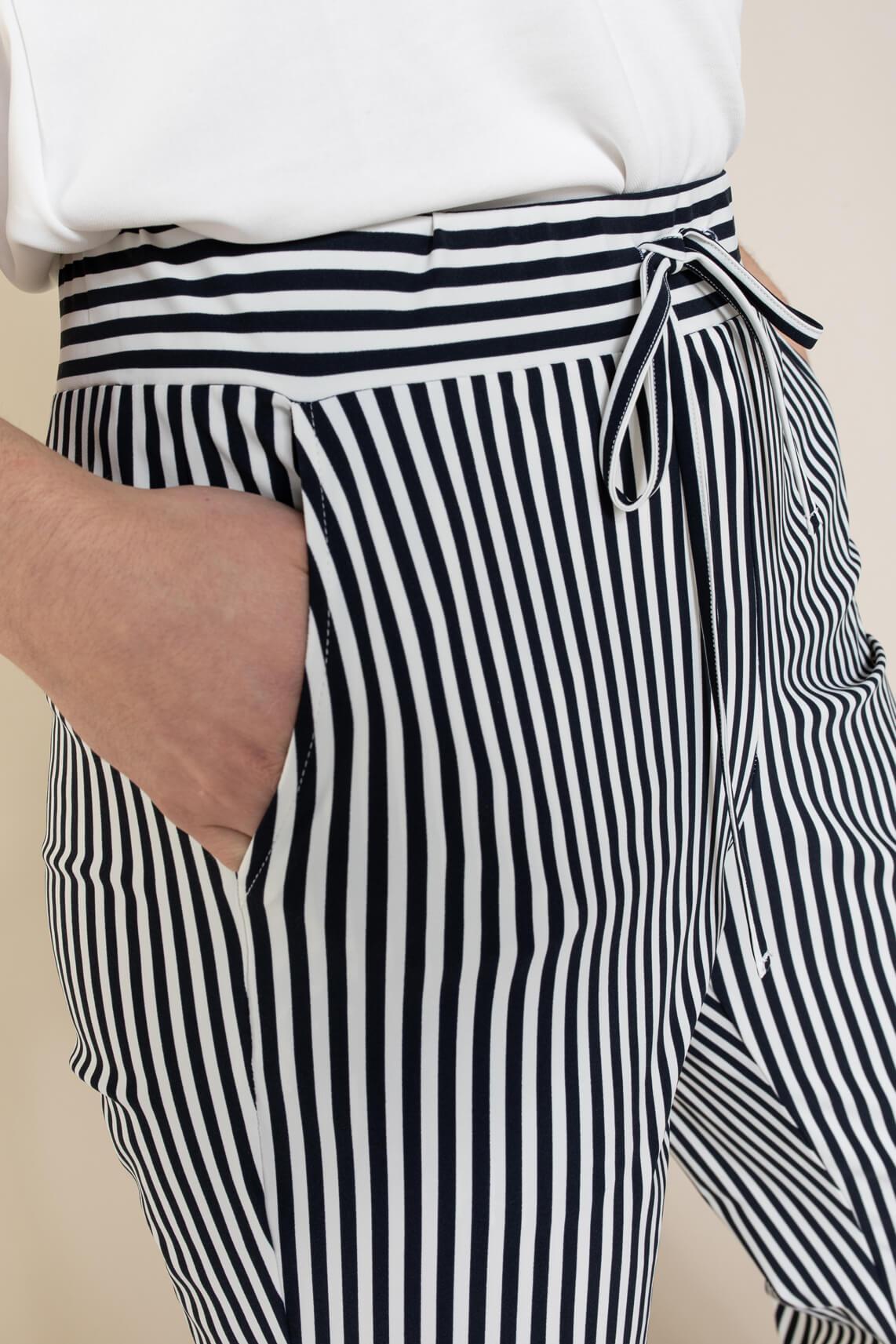 Anna Blue Dames Jersey sensitive pantalon Blauw