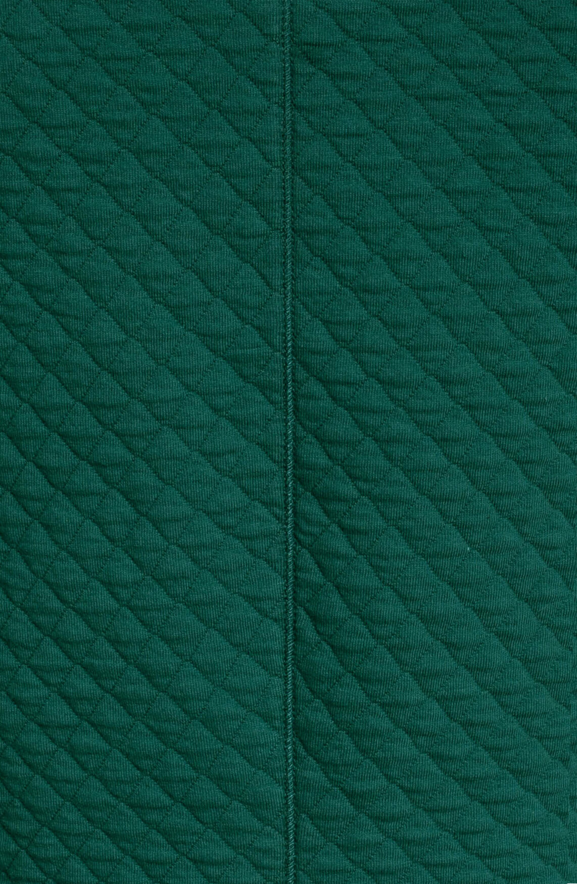 Anna Blue Dames Jurk met faux fur groen