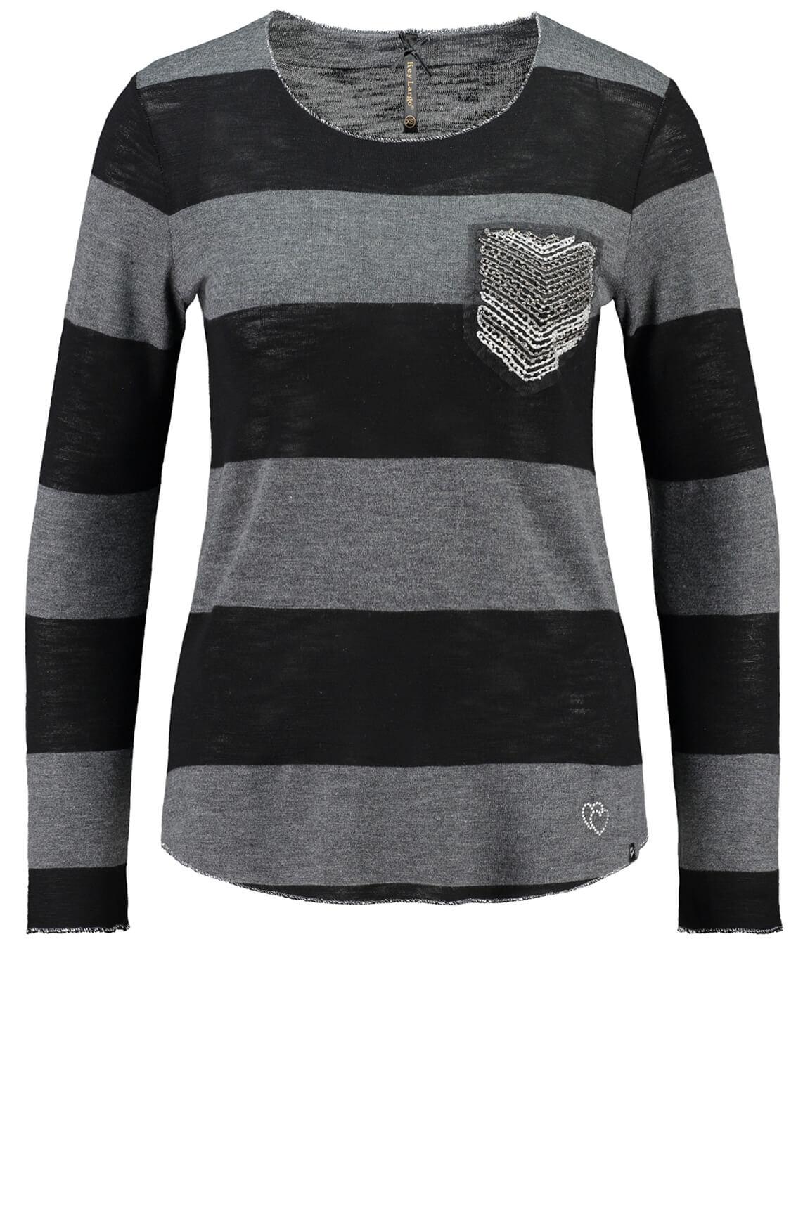 Key Largo Dames Janina shirt zwart