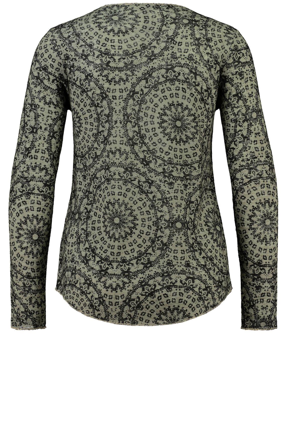 Key Largo Dames Illusion shirt groen