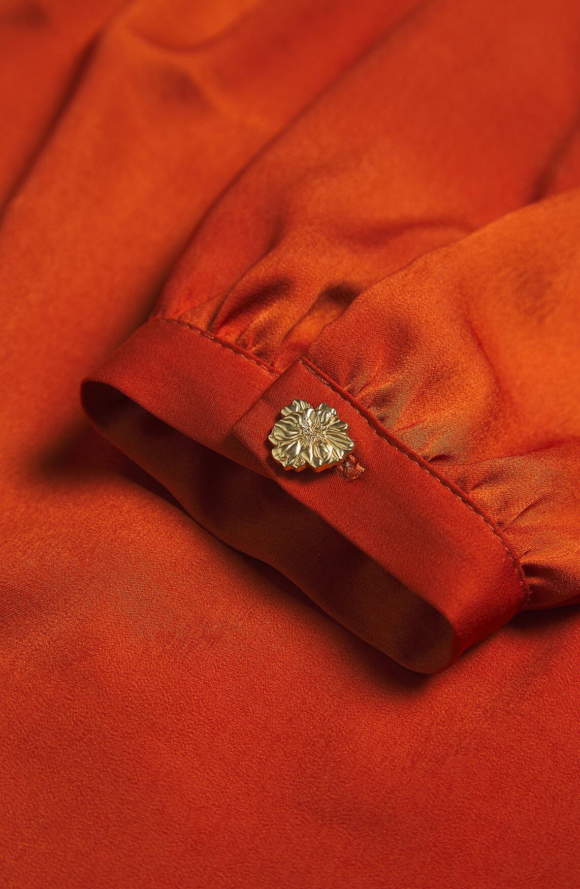 Fabienne Chapot Dames Mira blouse Bruin