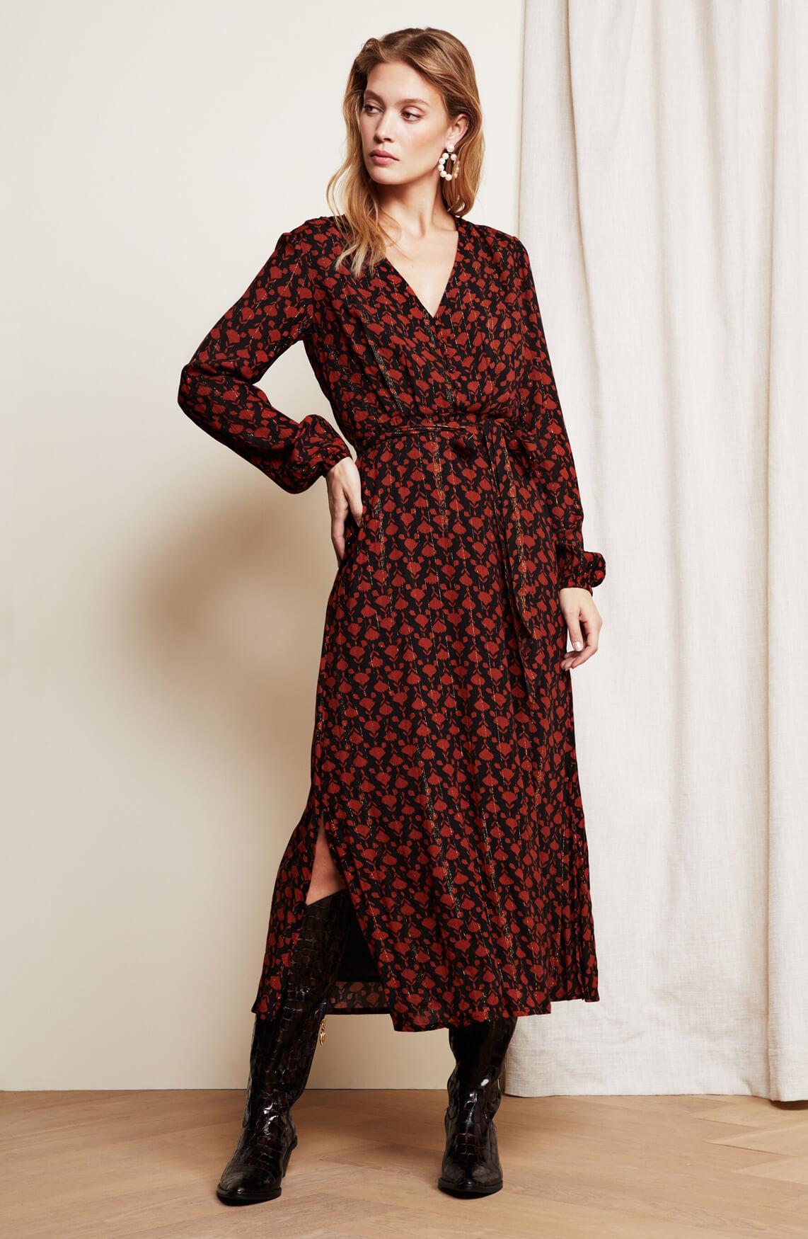 Fabienne Chapot Dames Isabella jurk Rood
