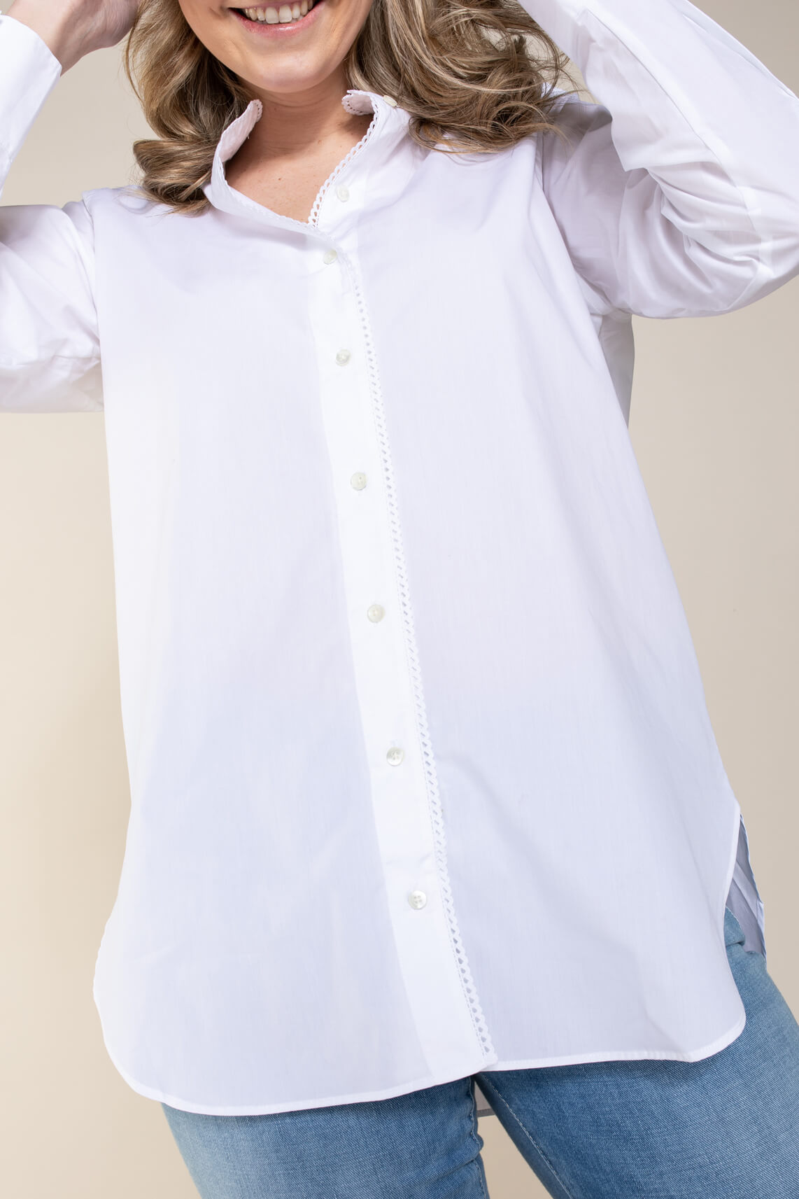 Closed Dames Frida blouse Wit
