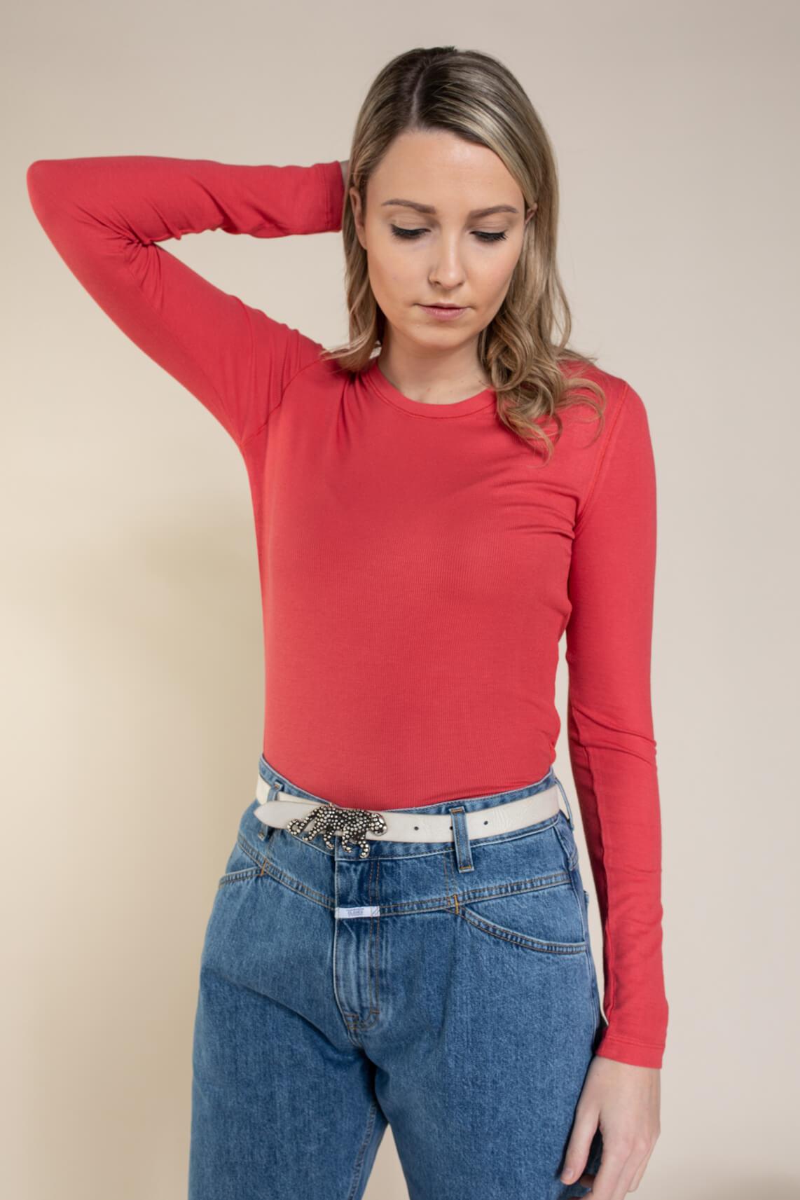 Closed Dames Shirt Rood