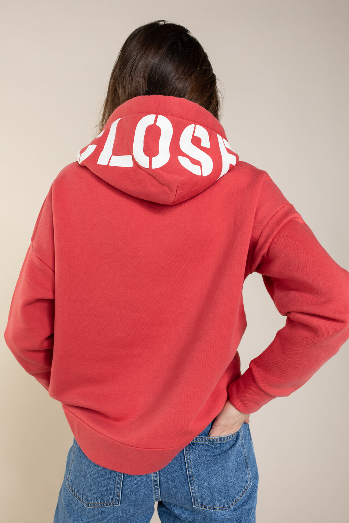 Closed Dames Sweater Rood